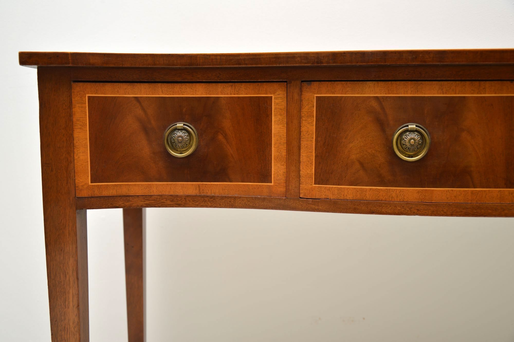 Antique Inlaid Mahogany Console Table (1950 To 1959 England) From For Orange Inlay Console Tables (View 8 of 30)