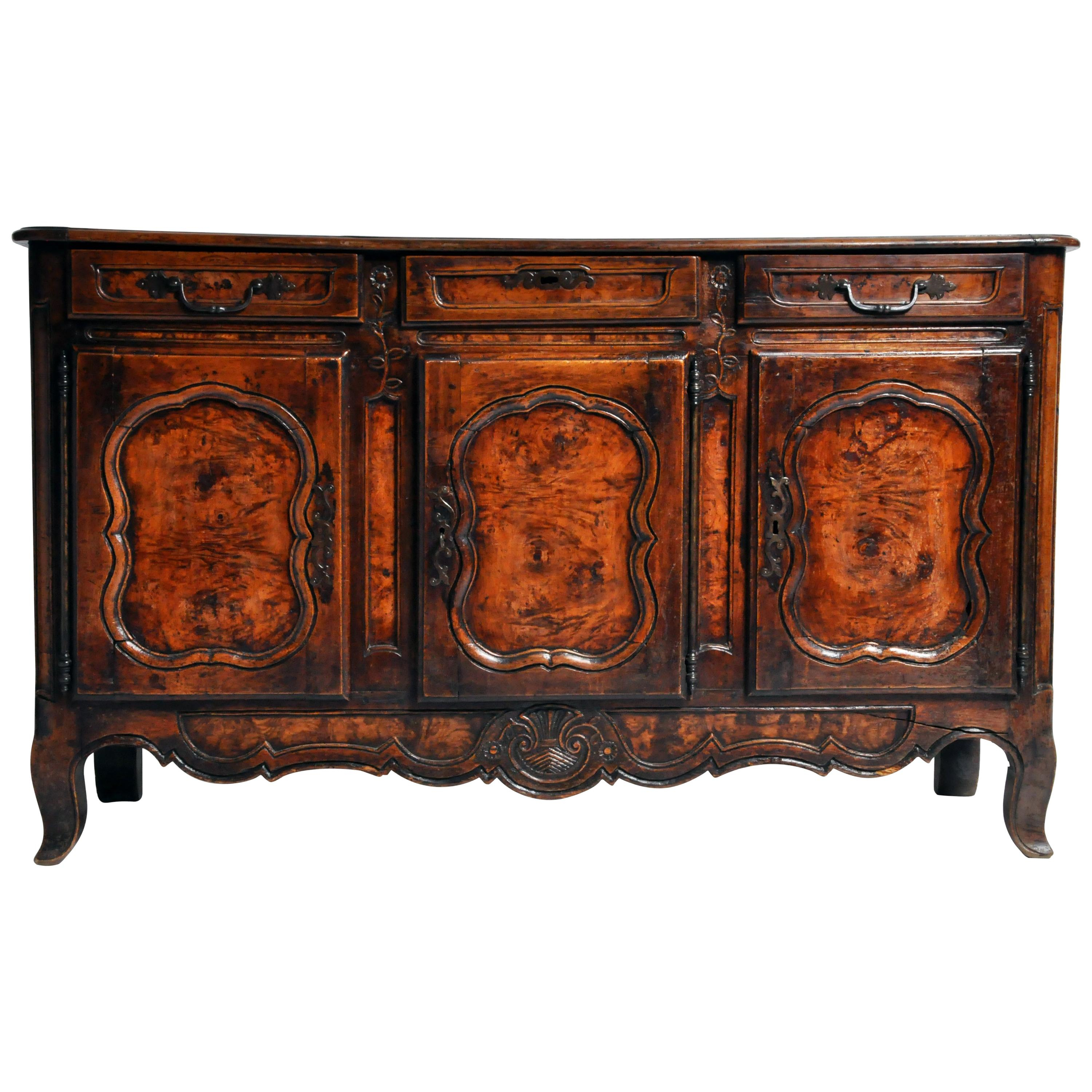 Antique Sideboards For Sale In Usa – 1stdibs For Burnt Oak Metal Sideboards (View 4 of 30)