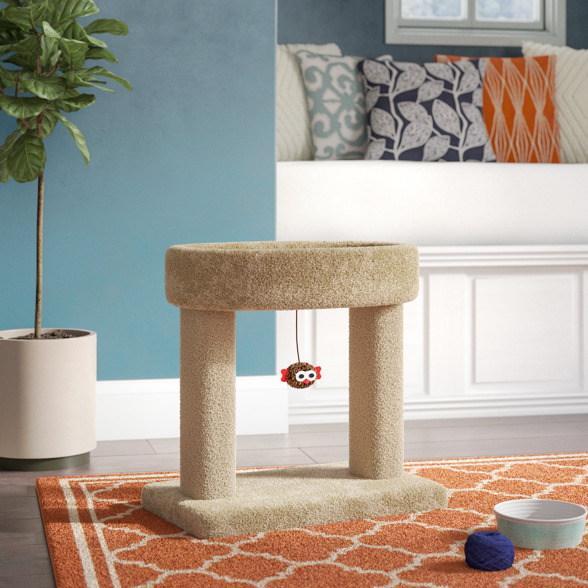 "Archie & Oscar 21"" Fifi Kitty Cradle Cat Condo & Reviews 