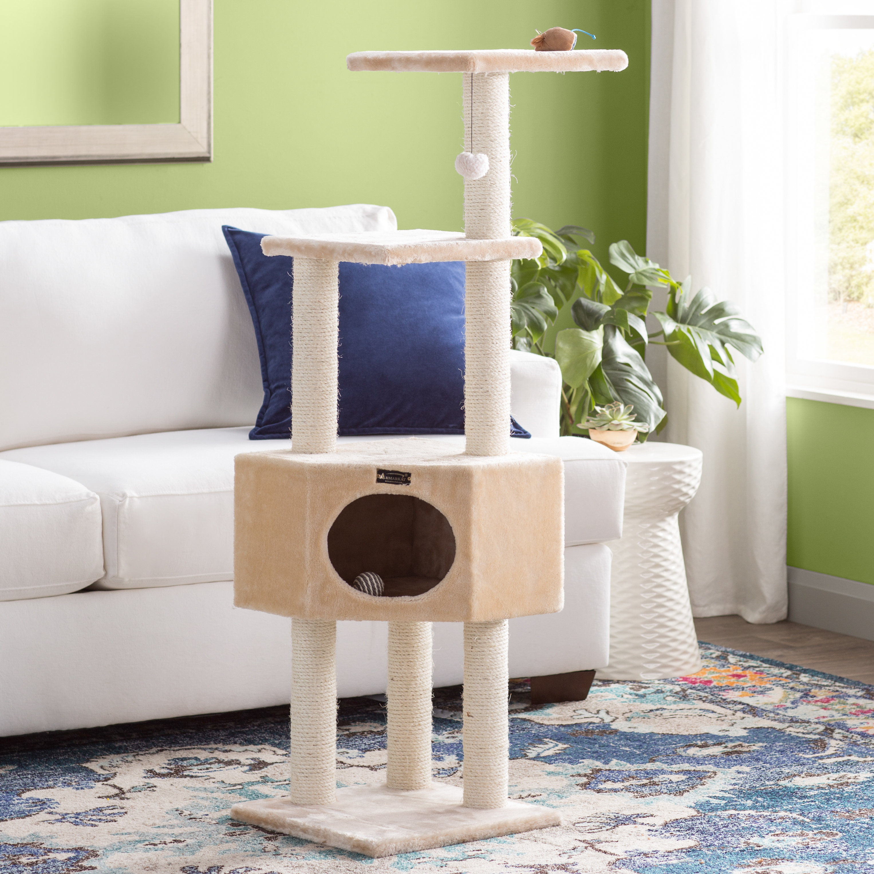 "Archie & Oscar 52"" Chance Cat Tree & Reviews 