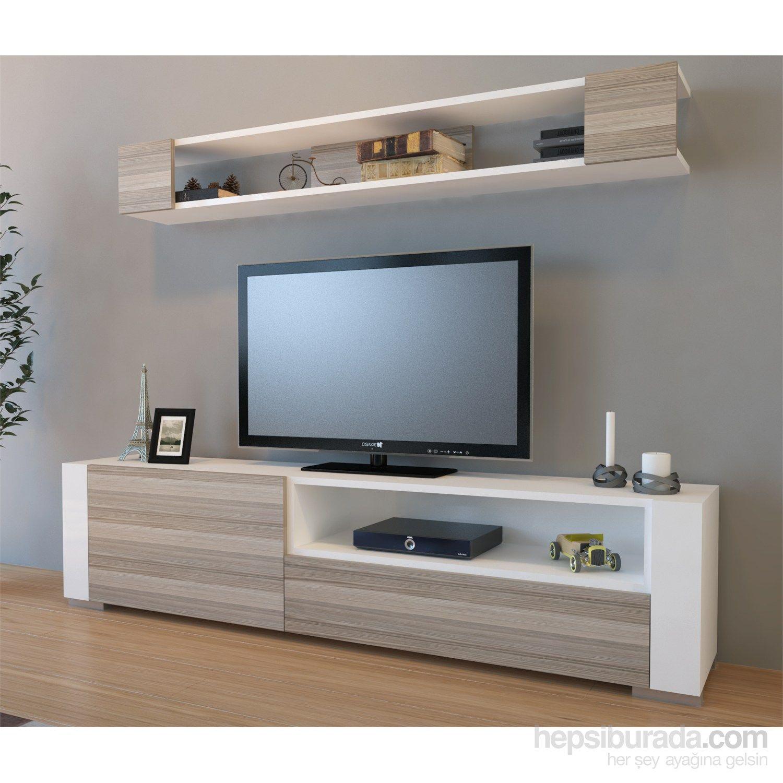 Arya Tv Ünitesi Beyaz / Cordoba Fiyatı - Taksit Seçenekleri | Tv with Cato 60 Inch Tv Stands (Image 8 of 30)