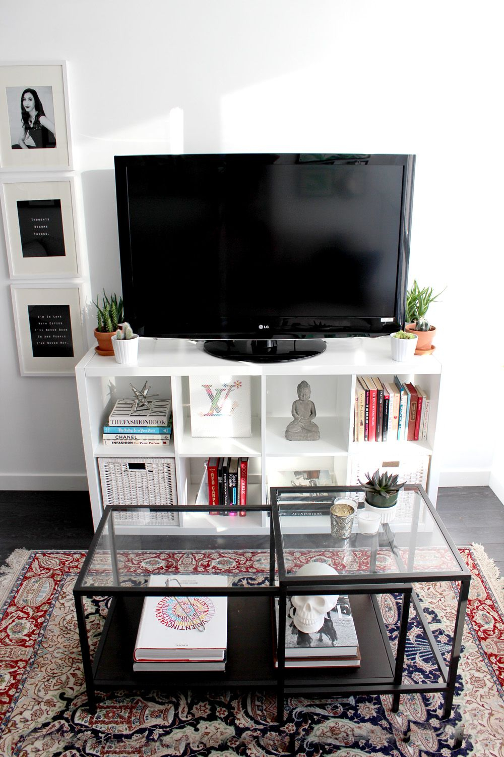 As You Recall, My Home Was Featured On Home On The Runway A Few Regarding Dixon Black 65 Inch Highboy Tv Stands (View 3 of 30)