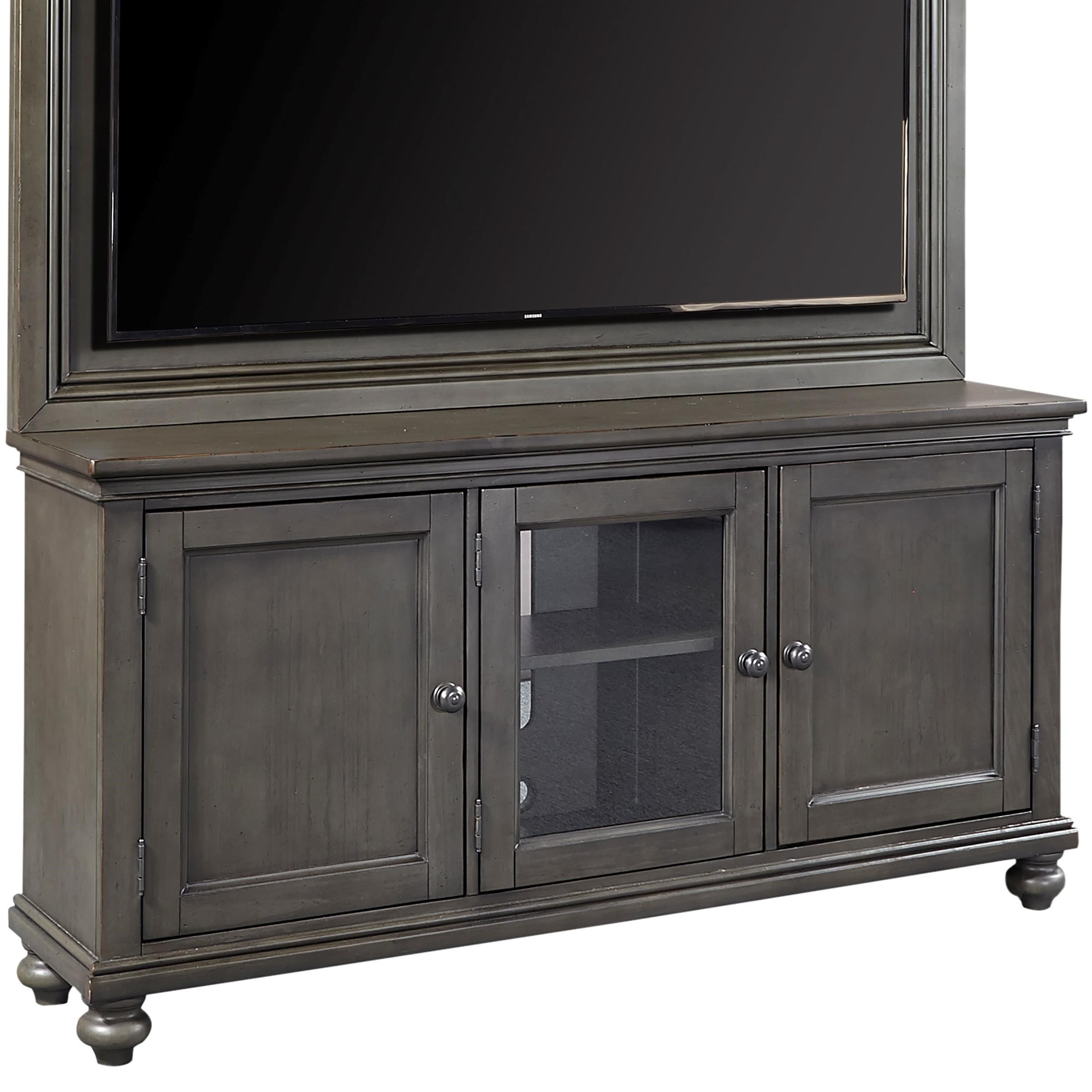 "Aspenhome Oxford 65"" Tv Stand With Adjustable Shelves 