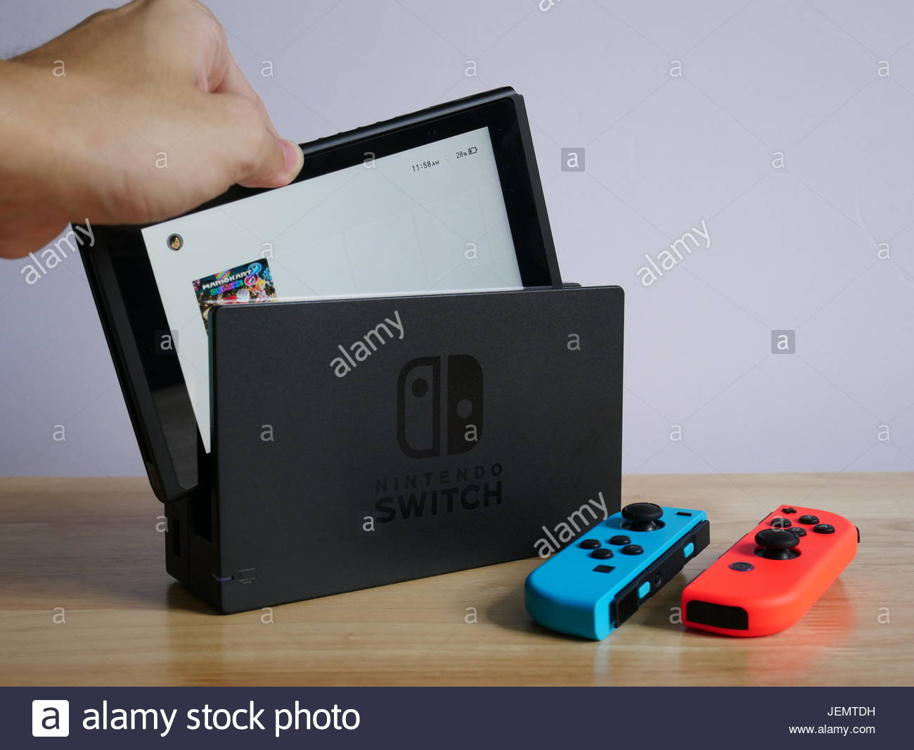 Bangkok, Thailand - June 25, 2017 : Nintendo Switch, The Video Game for Switch Console Tables (Image 3 of 30)