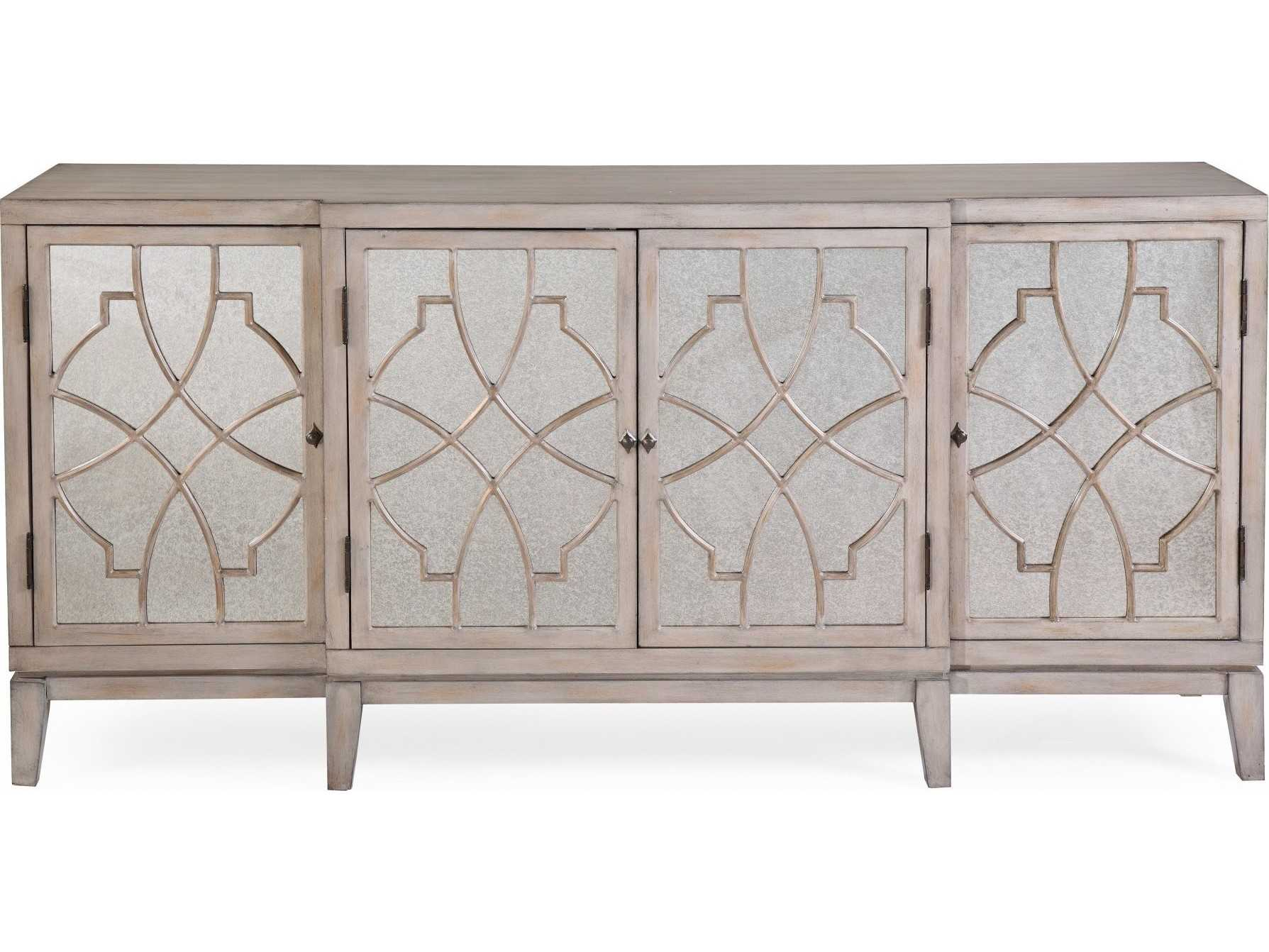 Bassett Mirror Pan Pacific Portia 72'' X 19'' Server   Ba2502dr576ec With Regard To Balboa Carved Console Tables (View 23 of 30)