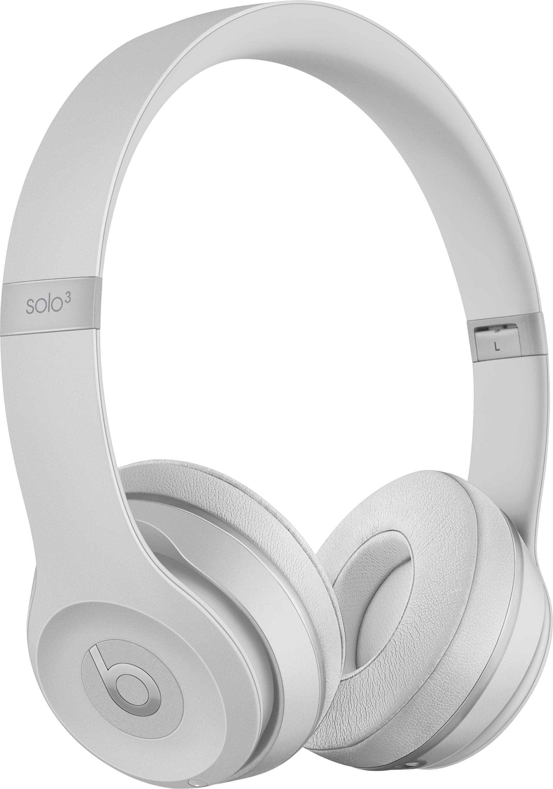 Beatsdr. Dre Beats Solo3 Wireless Headphones Silver Mr3T2Ll/a throughout Maddy 70 Inch Tv Stands (Image 4 of 30)