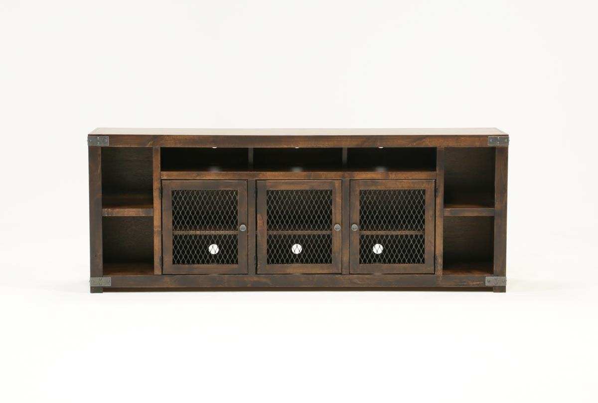 Beautiful Ducar 84 Inch Tv Stand Living Spaces 84 Tv Stand Within Ducar 84 Inch Tv Stands (View 12 of 30)