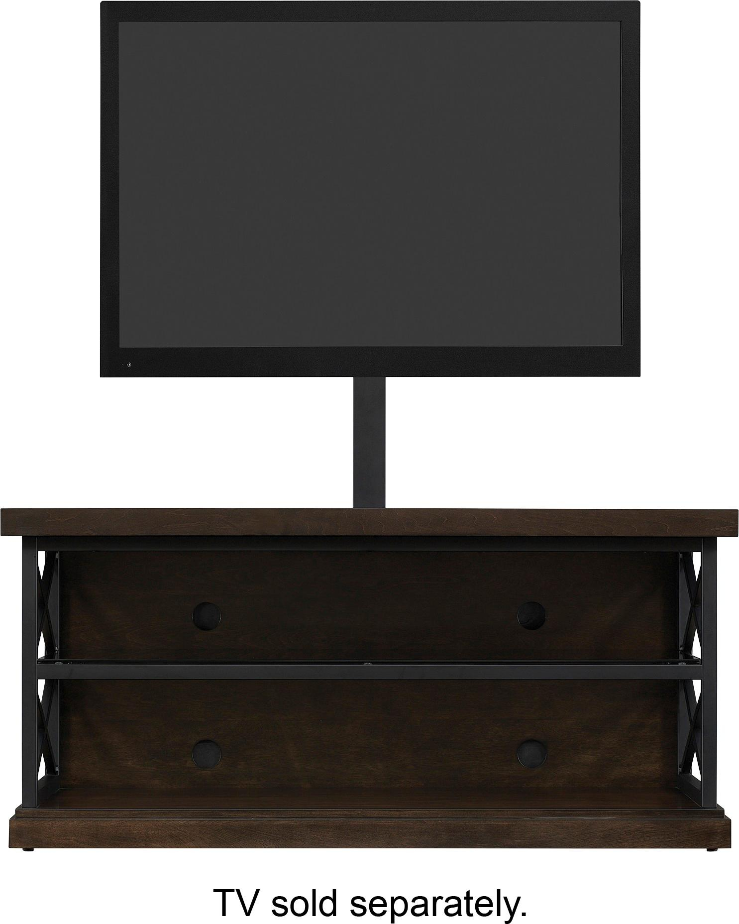 "Best Buy: Bell'o Triple Play Tv Stand For Most Tvs Up To 55"" Brown with regard to Abbot 60 Inch Tv Stands (Image 9 of 30)"