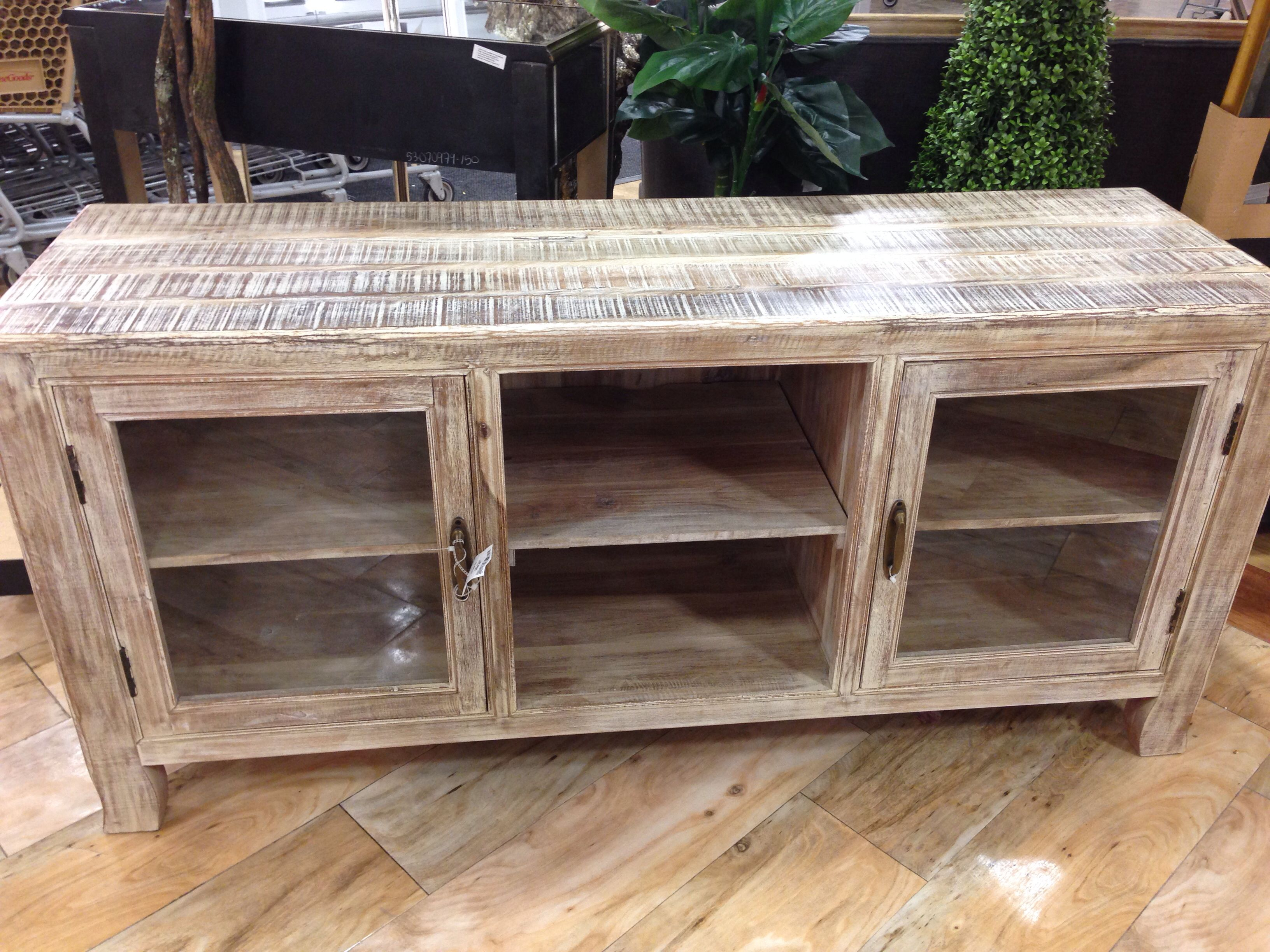 Best Pallet Projects | Pallet Tv Stands & Entertainment Centers for Walters Media Console Tables (Image 6 of 30)