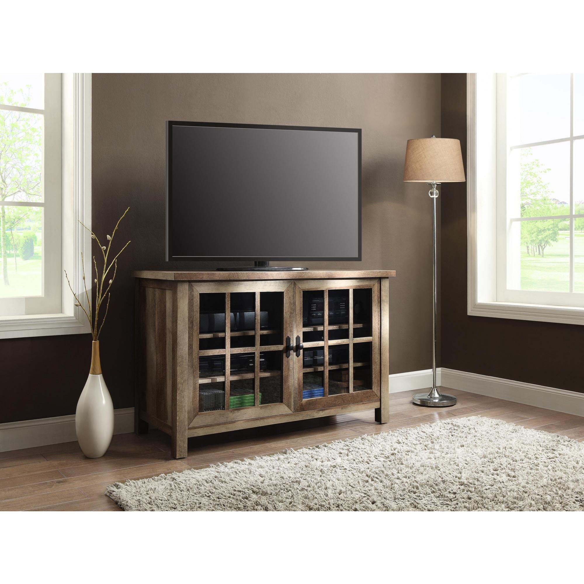 Better Homes And Gardens Oxford And Stand Tv Square Console For Tvs with Oxford 84 Inch Tv Stands (Image 5 of 30)