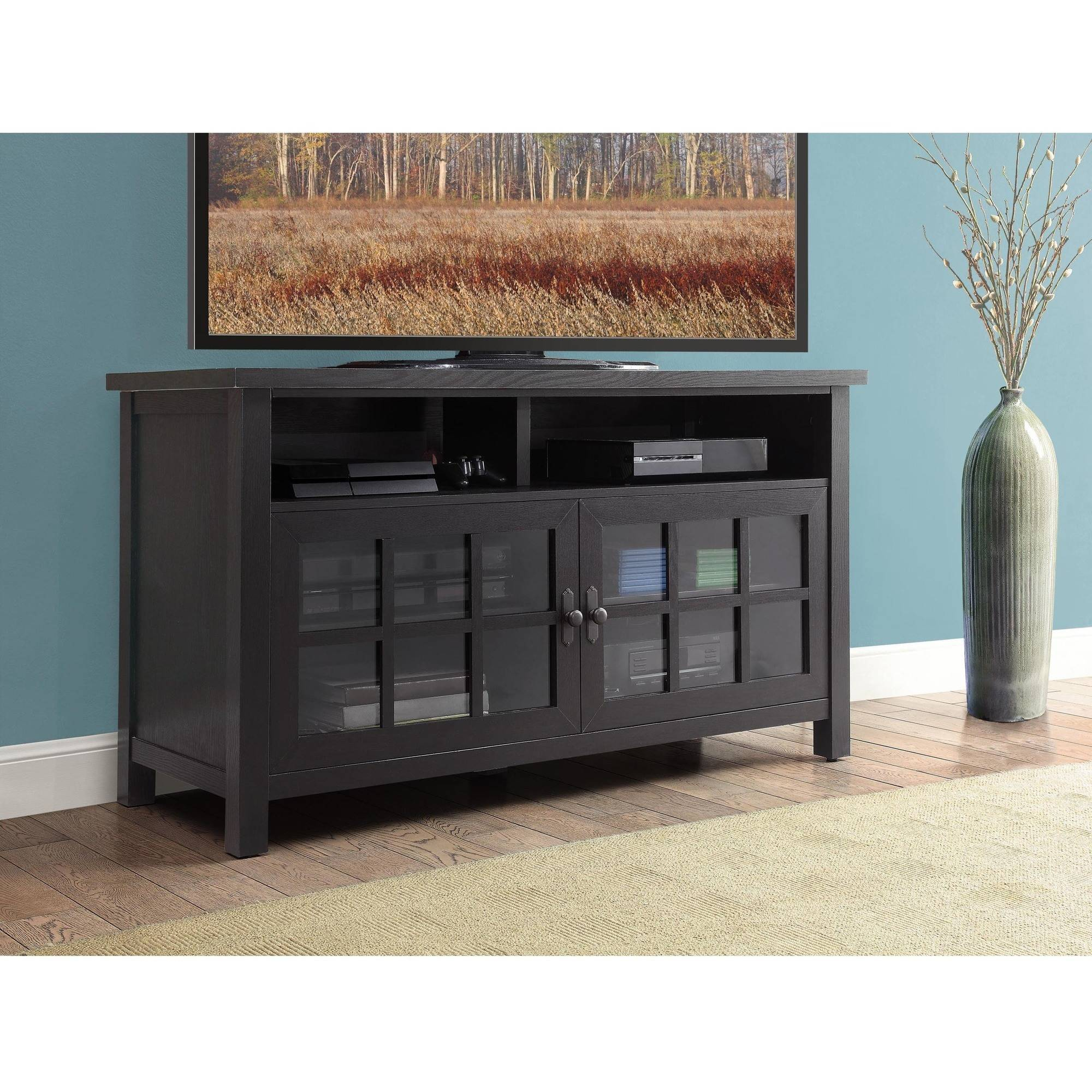 Better Homes And Gardens Oxford Square Av Console For Tv's Up To 60 regarding Oxford 84 Inch Tv Stands (Image 7 of 30)