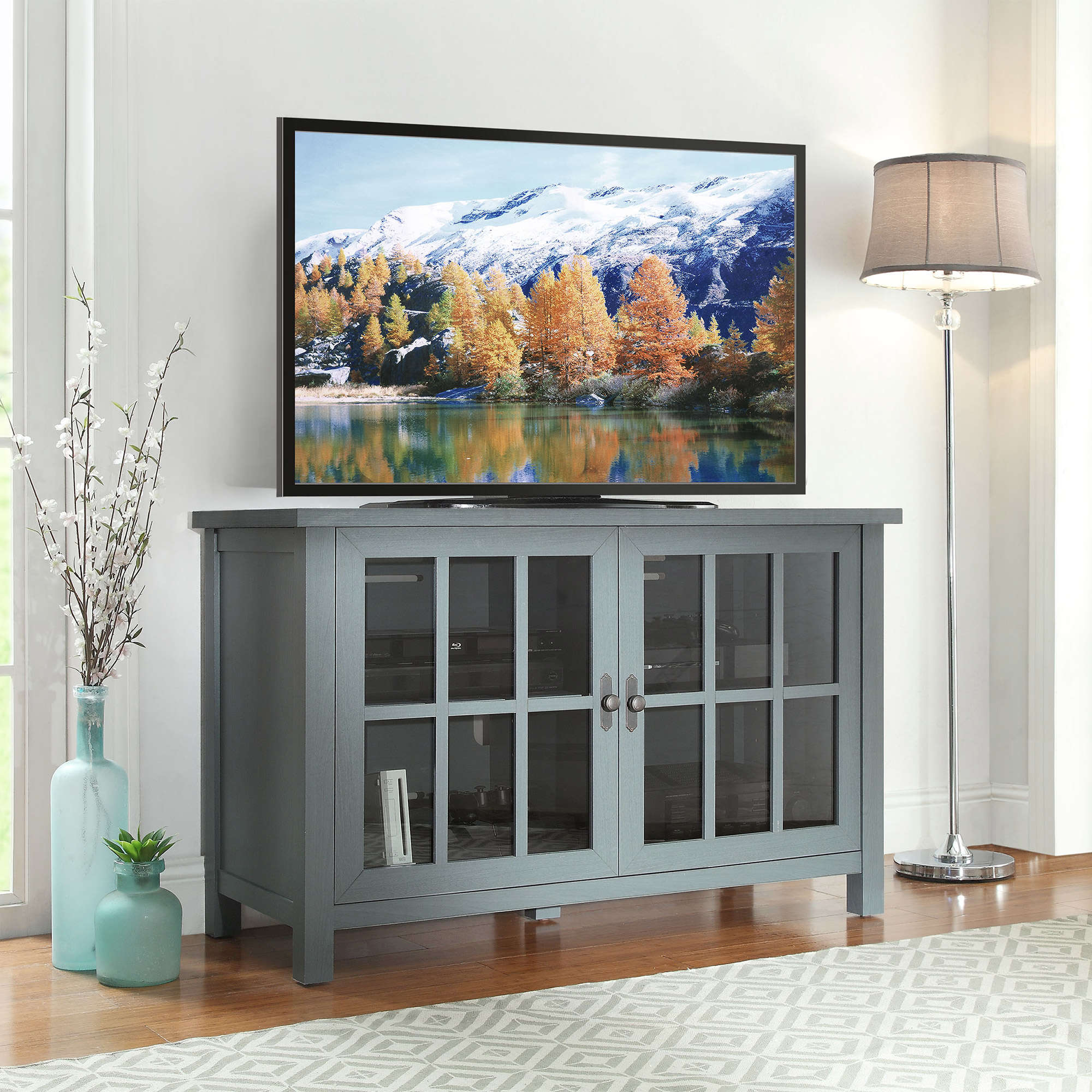 Better Homes And Gardens Oxford Square Tv Console For Tvs Up To 55 for Oxford 60 Inch Tv Stands (Image 11 of 30)