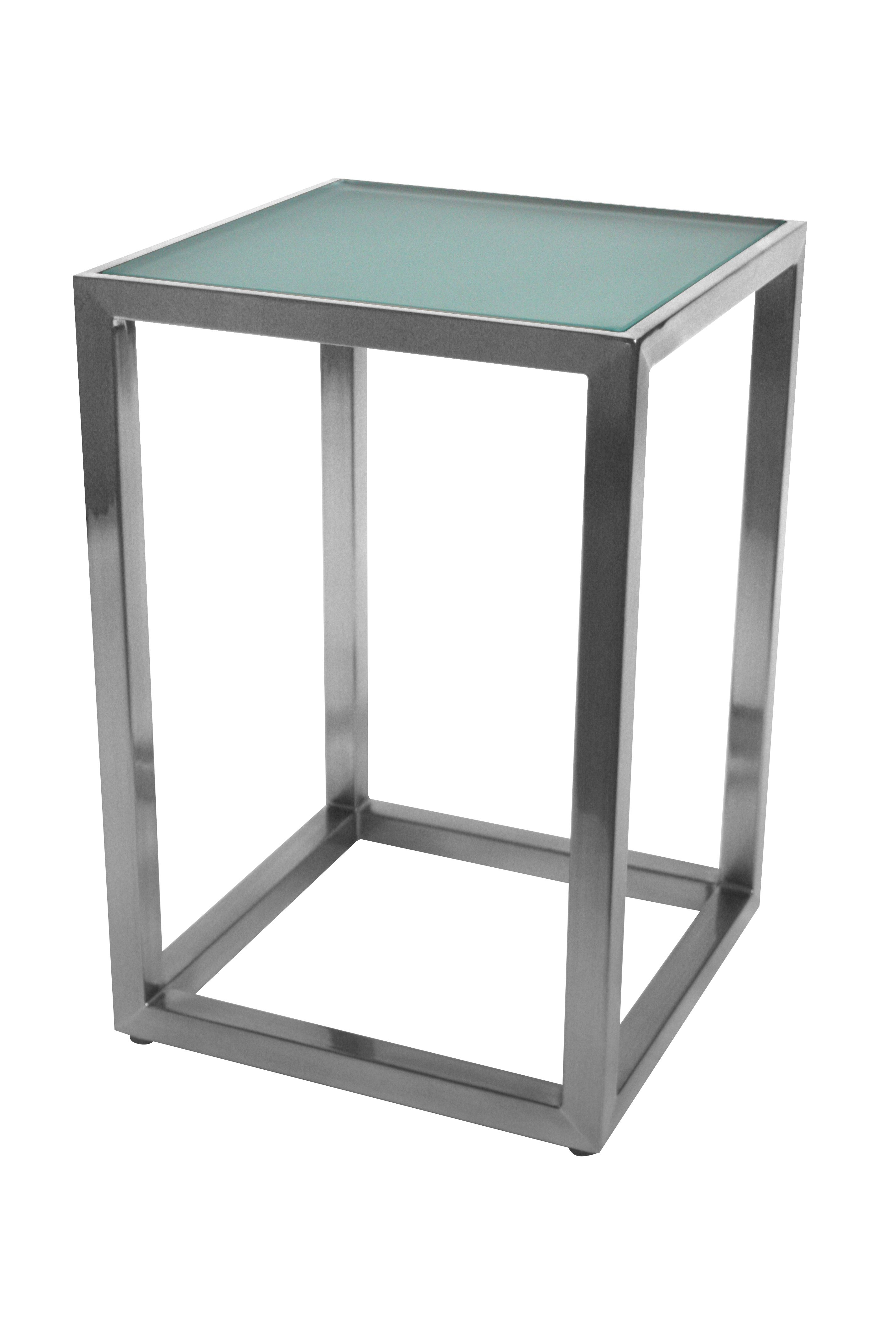 Bloomingdale's Willow End Table – 100% Exclusive | Beauty Snap Intended For Parsons Clear Glass Top & Stainless Steel Base 48x16 Console Tables (View 8 of 30)
