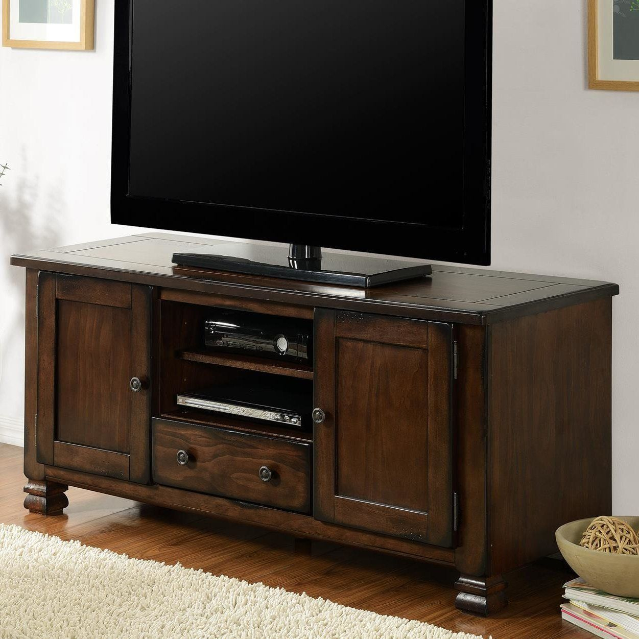 "Brackenridge 54"" Tv Stand #tvstandideasforlivingroom 