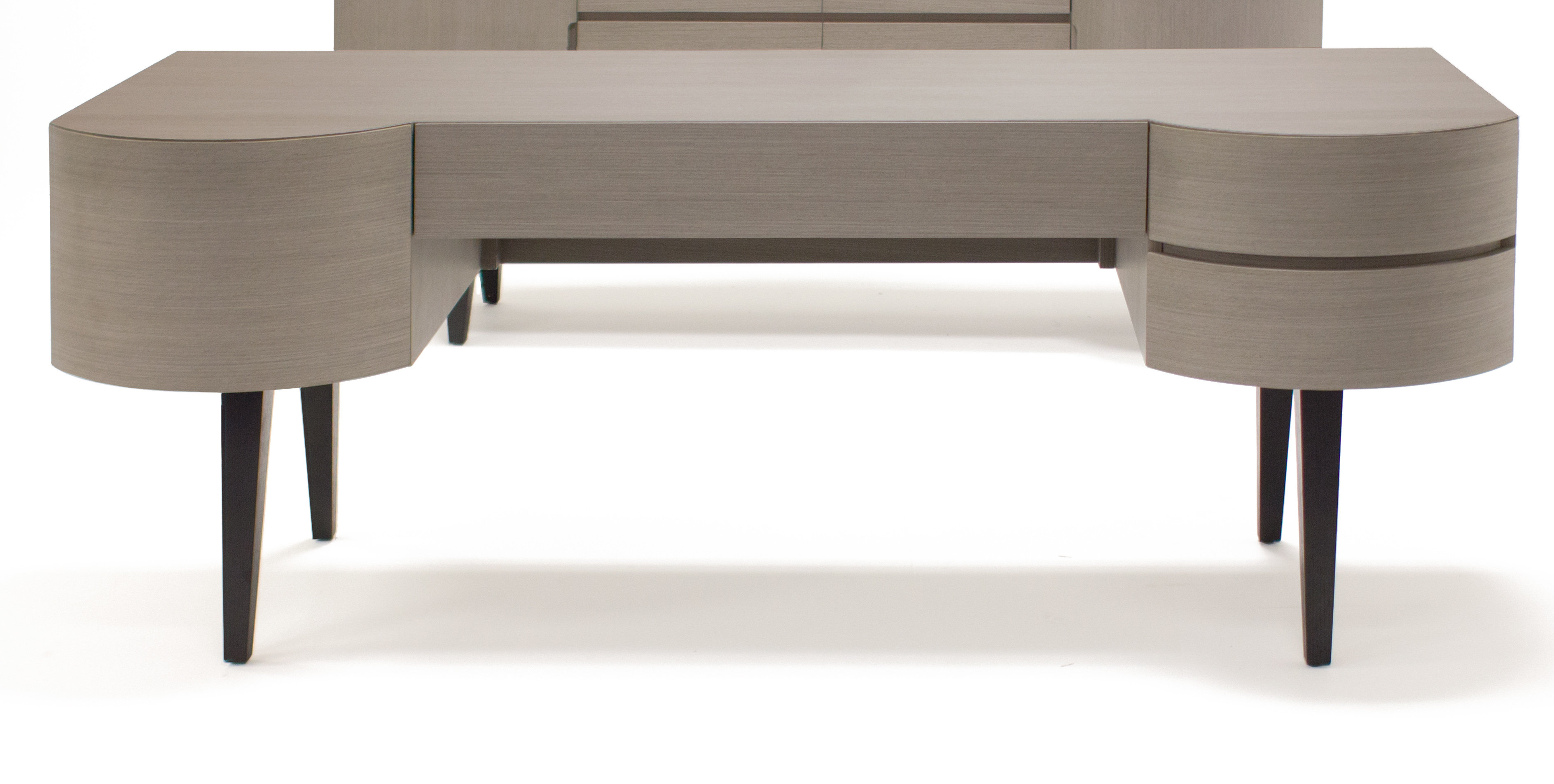 Brayden Studio Yukon U-Shape Computer Desk | Wayfair within Yukon Grey Console Tables (Image 7 of 30)