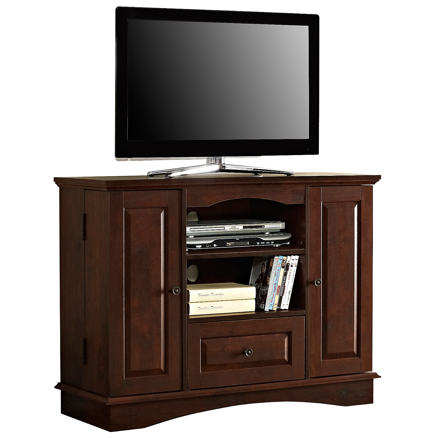 Brown Tv Stands | Www.tollebild inside Melrose Barnhouse Brown 65 Inch Lowboy Tv Stands (Image 21 of 30)