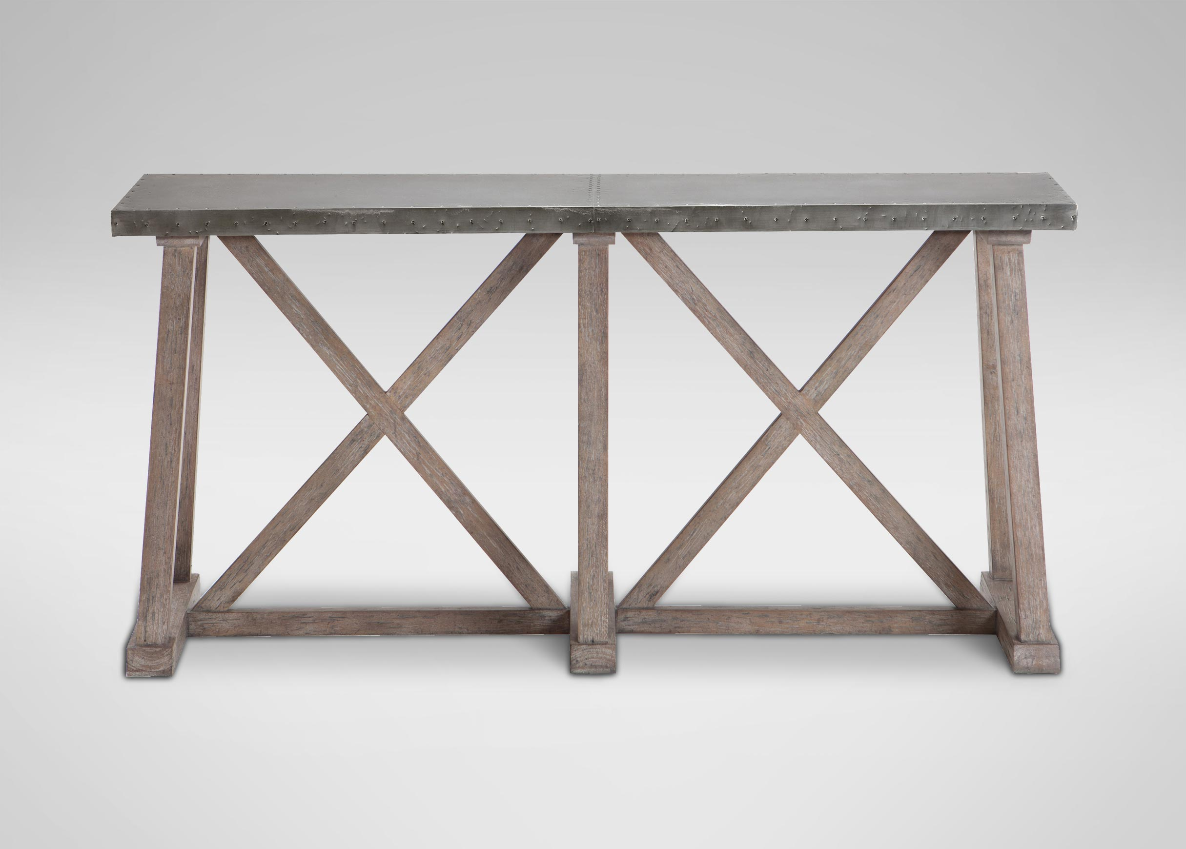 Bruckner Metal Top Console Table Console Tables Ethan Contemporary Inside Ethan Console Tables (View 10 of 30)
