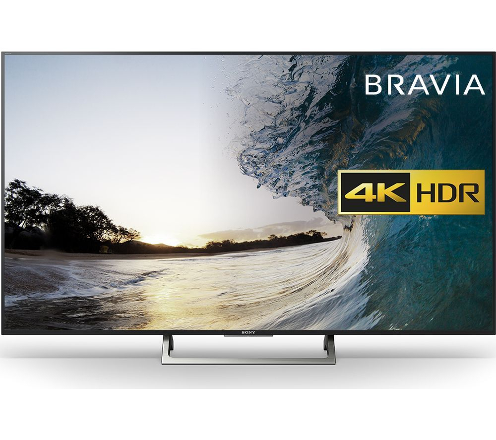 """Buy 49"""" Sony Bravia Kd49xe8396 Smart 4k Ultra Hd Hdr Led Tv Price Pertaining To Forma 65 Inch Tv Stands (View 19 of 30)"""