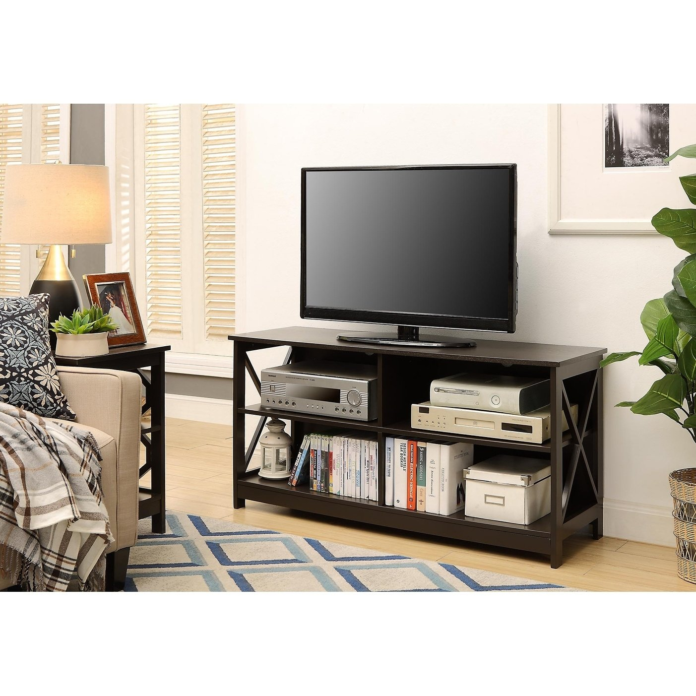 Buy Brown, Modern & Contemporary Tv Stands & Entertainment Centers regarding Oxford 84 Inch Tv Stands (Image 14 of 30)