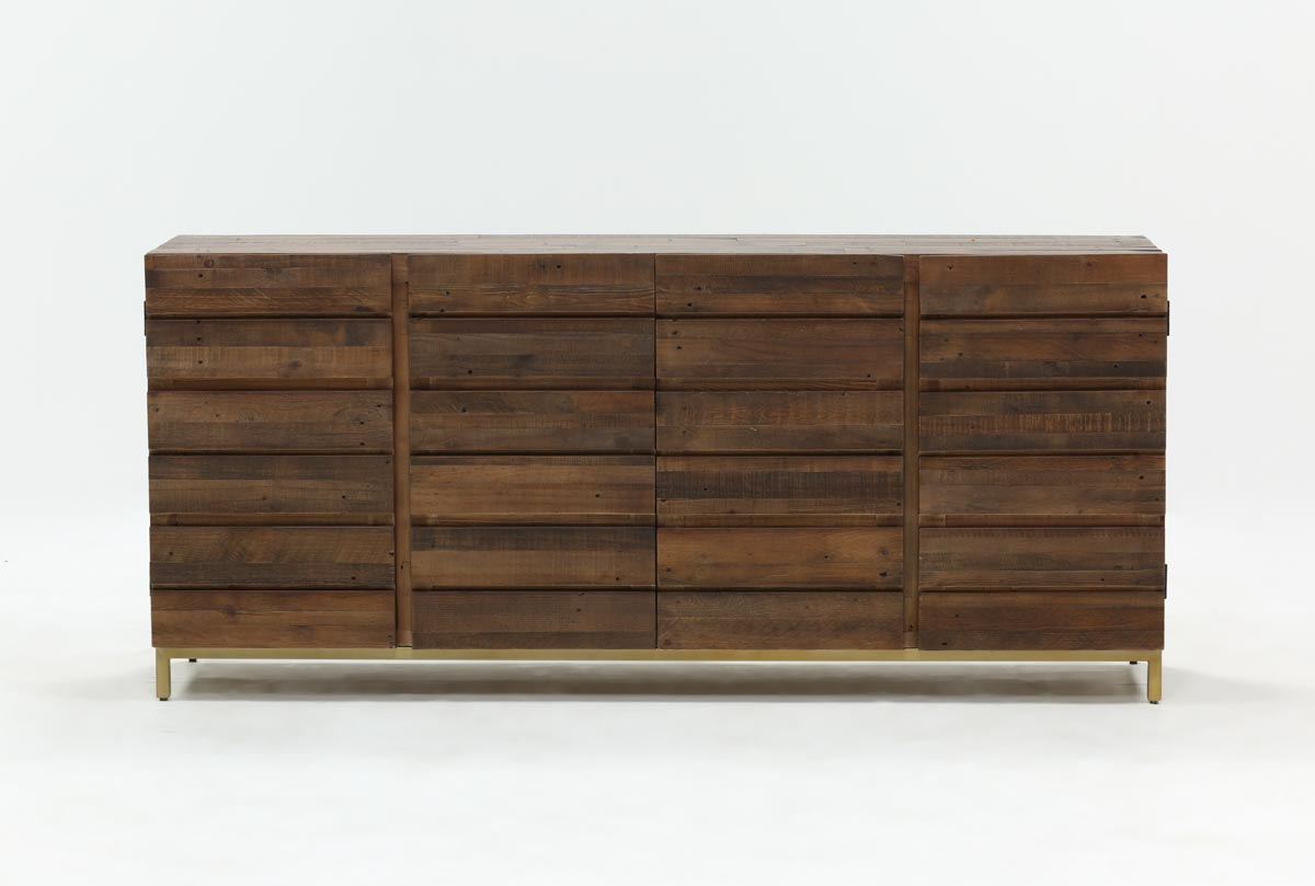 Calhoun Sideboard | Living Spaces in Mikelson Media Console Tables (Image 8 of 30)