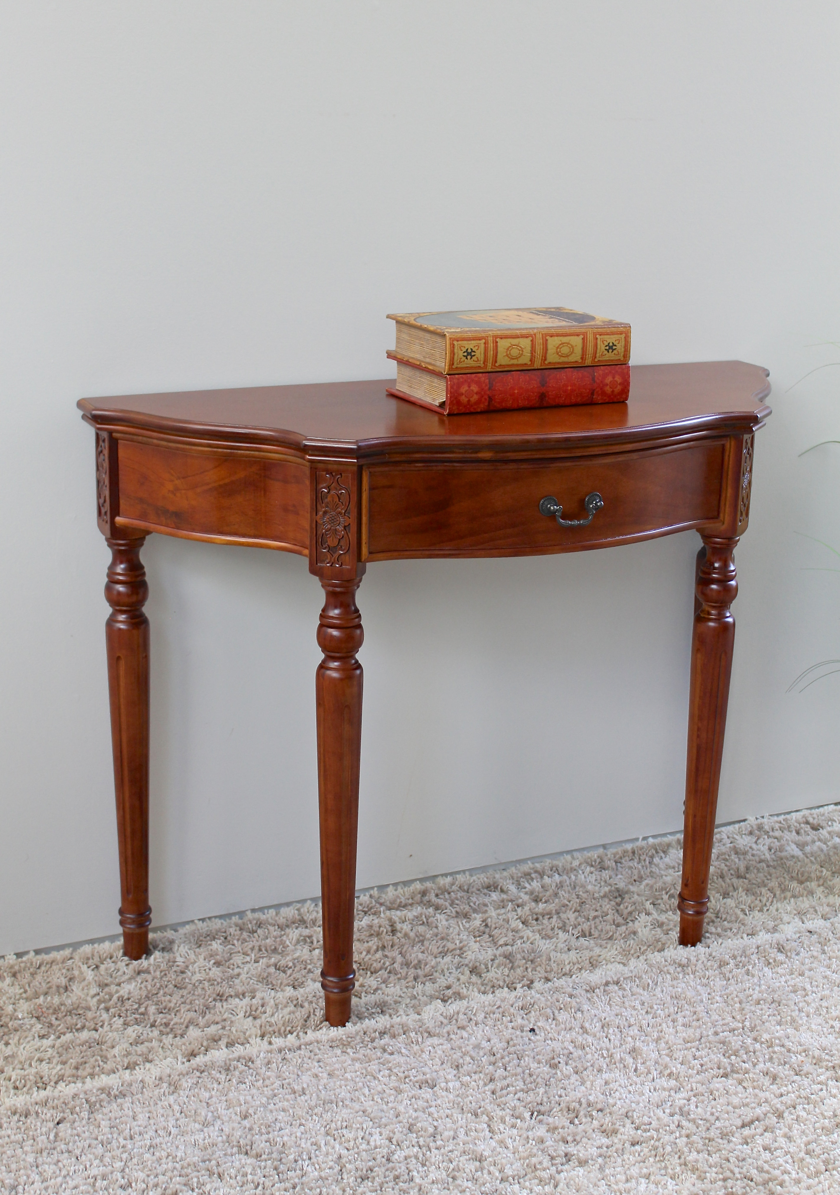 Carved Indian Furniture   Wayfair (View 8 of 30)