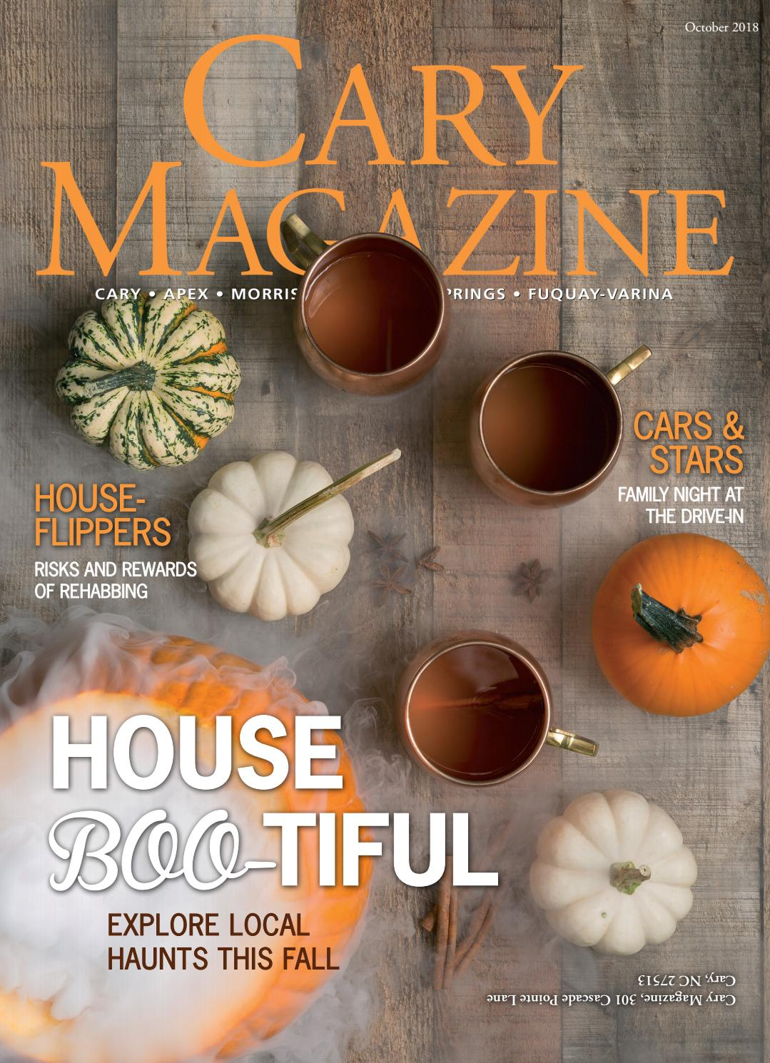 Cary Magazine October 2018cary Magazine – Issuu With Regard To Preston 66 Inch Tv Stands (View 18 of 28)