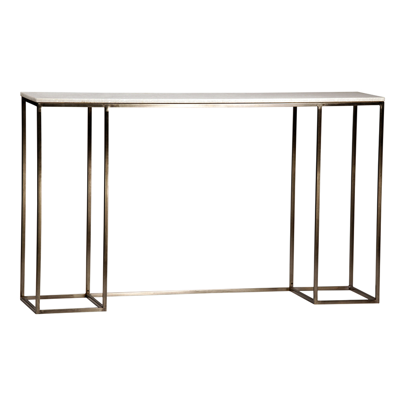 Claire Marble Console Table Furniture | Mix Furniture pertaining to Mix Patina Metal Frame Console Tables (Image 4 of 30)
