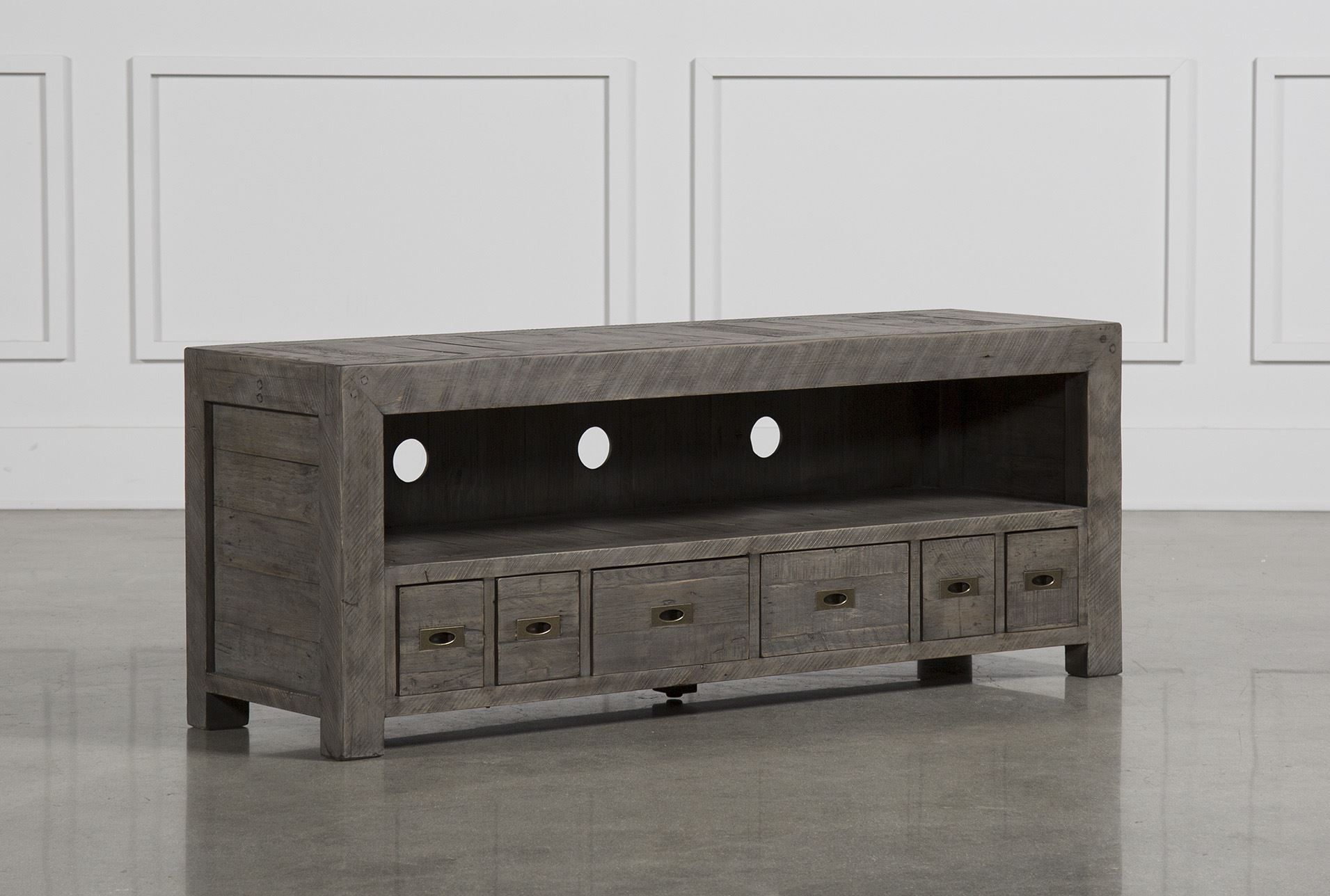 Combs 63 Inch Tv Console | Decor | Pinterest | Entertainment Center With Regard To Ducar 84 Inch Tv Stands (View 10 of 30)