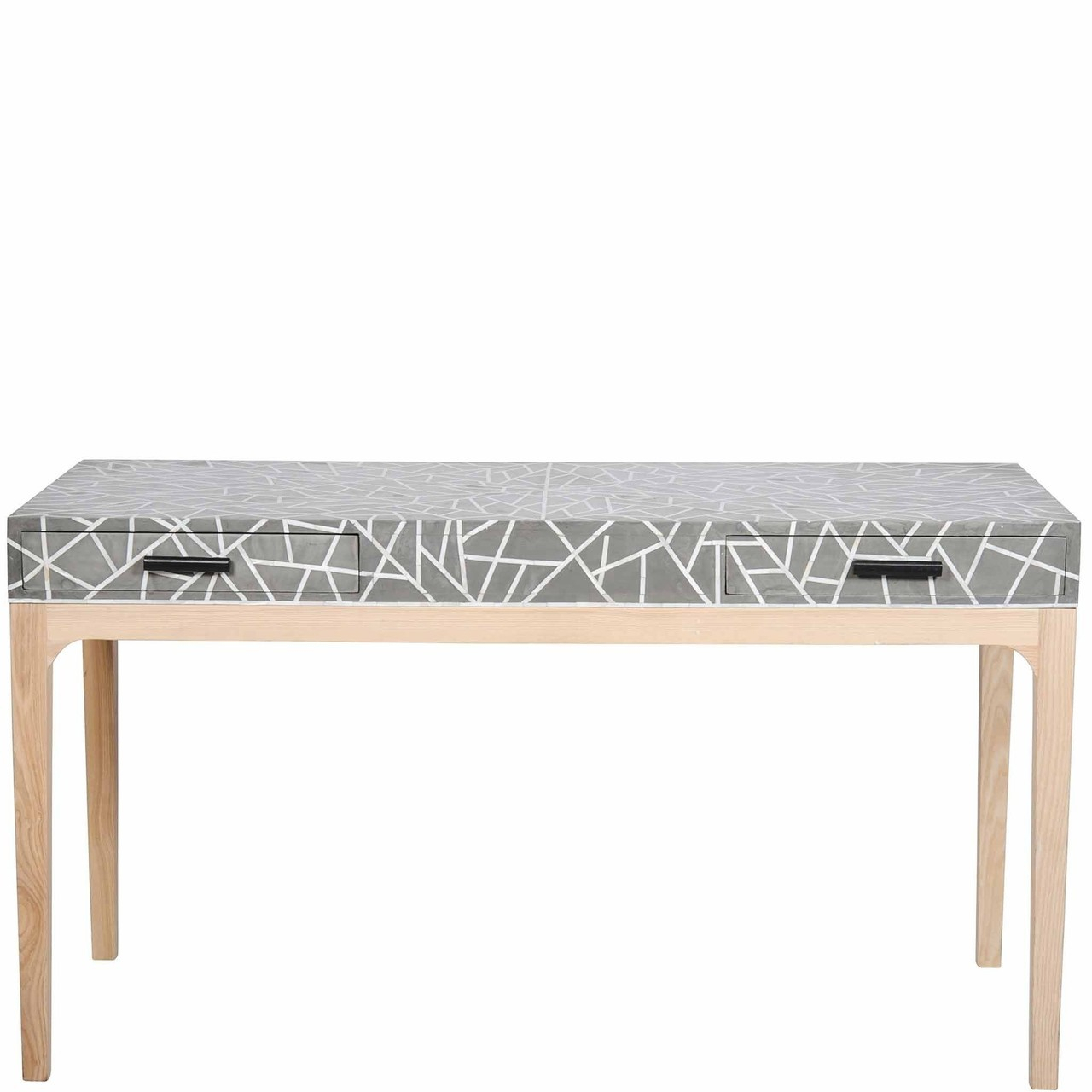 Console Table / Desks 1 Archives - Luxury Handicrafts | Bone Inlay within Archive Grey Console Tables (Image 6 of 30)