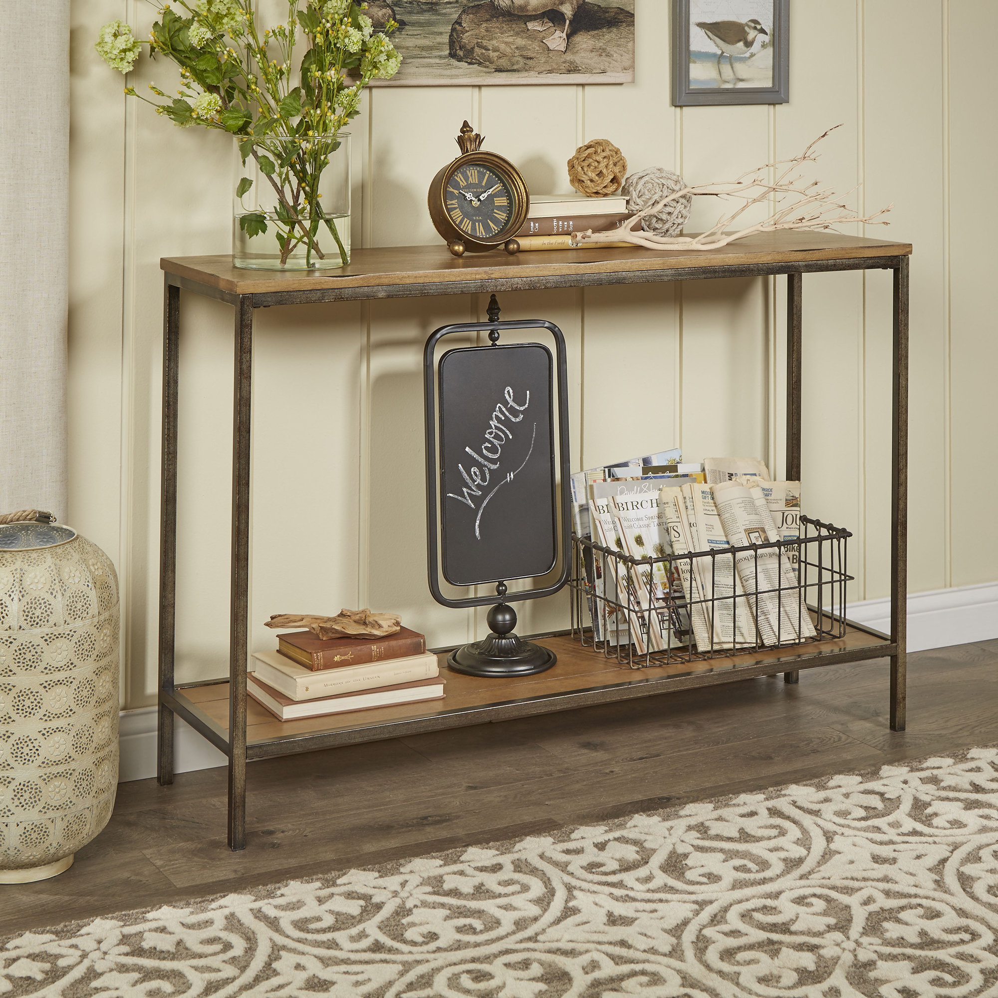 Console Tables | Birch Lane throughout Natural Cane Media Console Tables (Image 10 of 30)