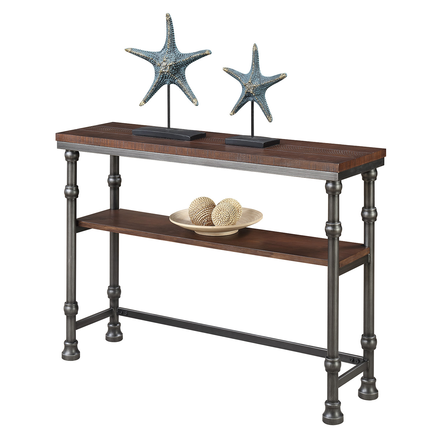 Convenience Concepts Yukon Console Table - Walmart for Yukon Grey Console Tables (Image 9 of 30)