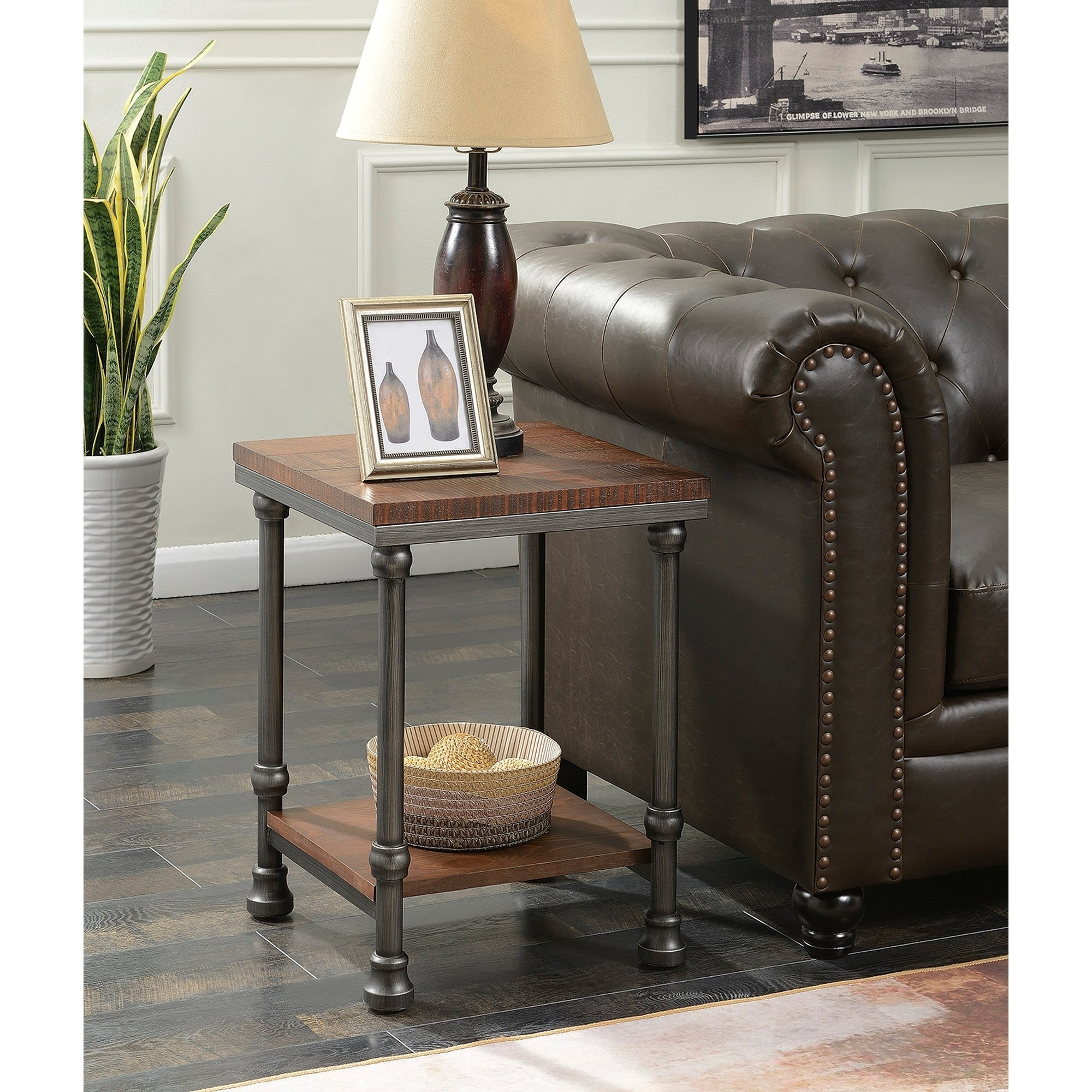 Convenience Concepts Yukon End Table - Free Shipping Today inside Yukon Grey Console Tables (Image 10 of 30)