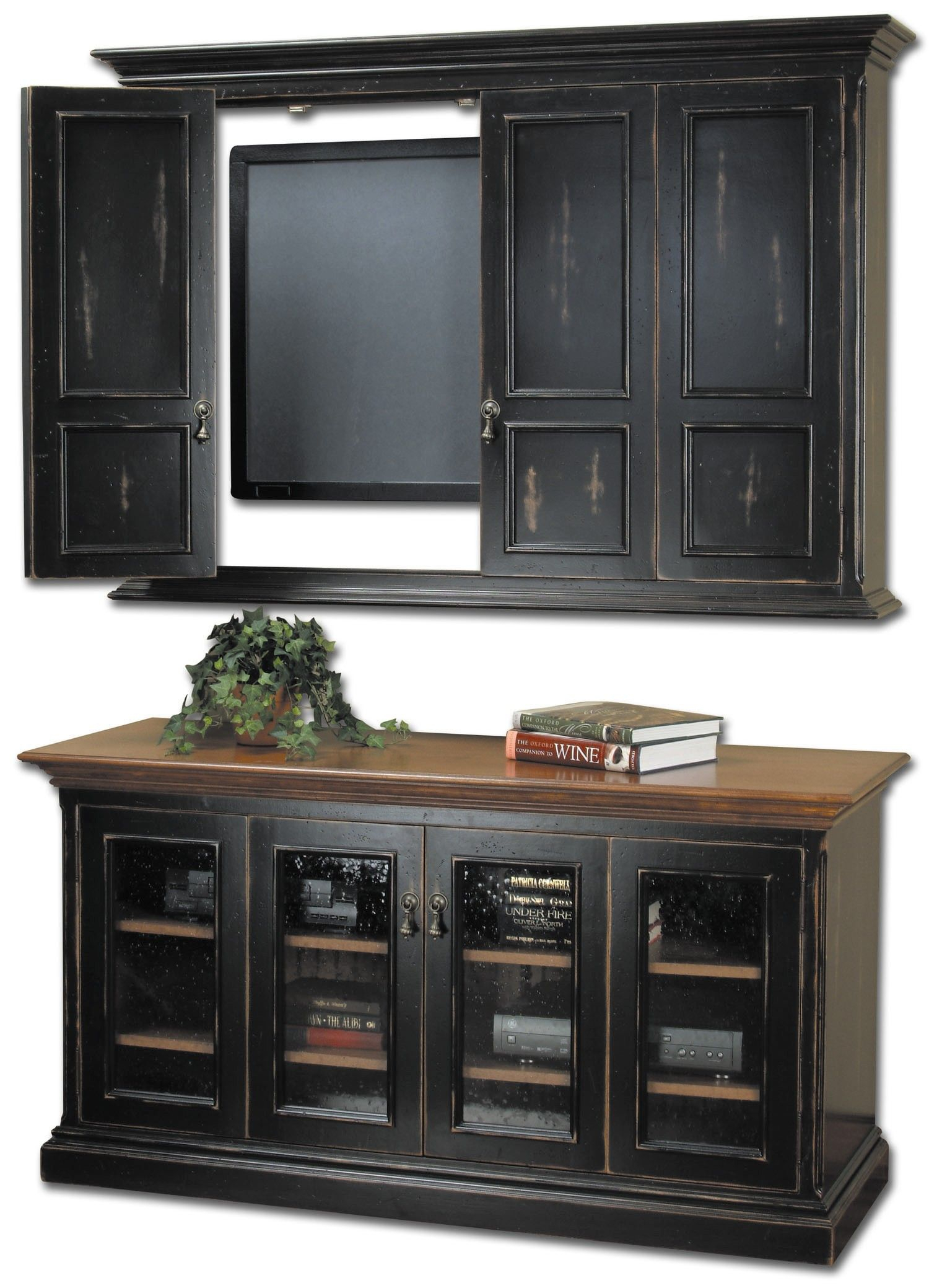 Country Classics Painted Furniture, Hillsboro Flat Screen Tv Wall for Oxford 60 Inch Tv Stands (Image 16 of 30)