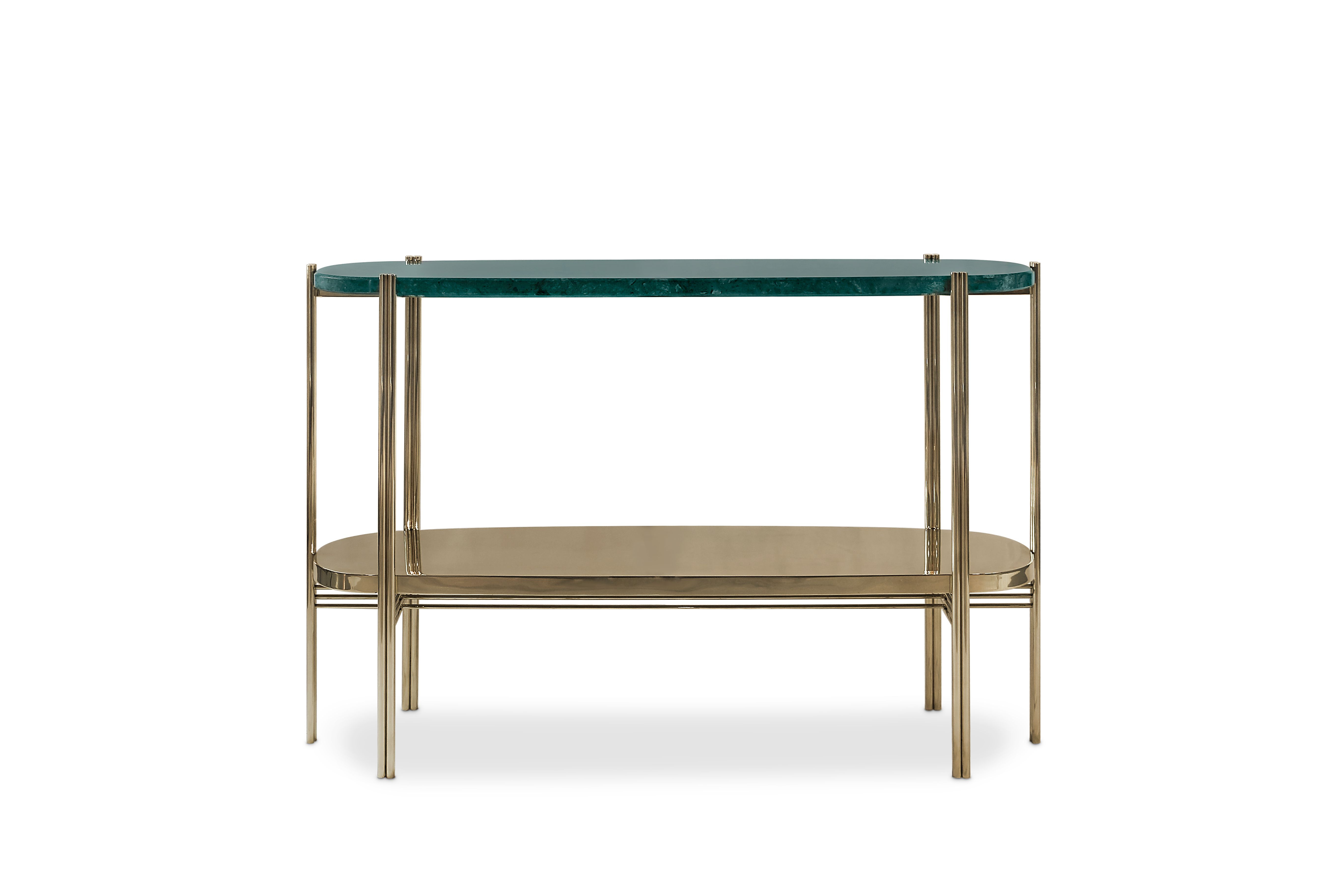 Craig Console Is A Midcentury Modern Piece At Maison Et Objet Paris With Regard To Elke Marble Console Tables With Brass Base (View 11 of 30)