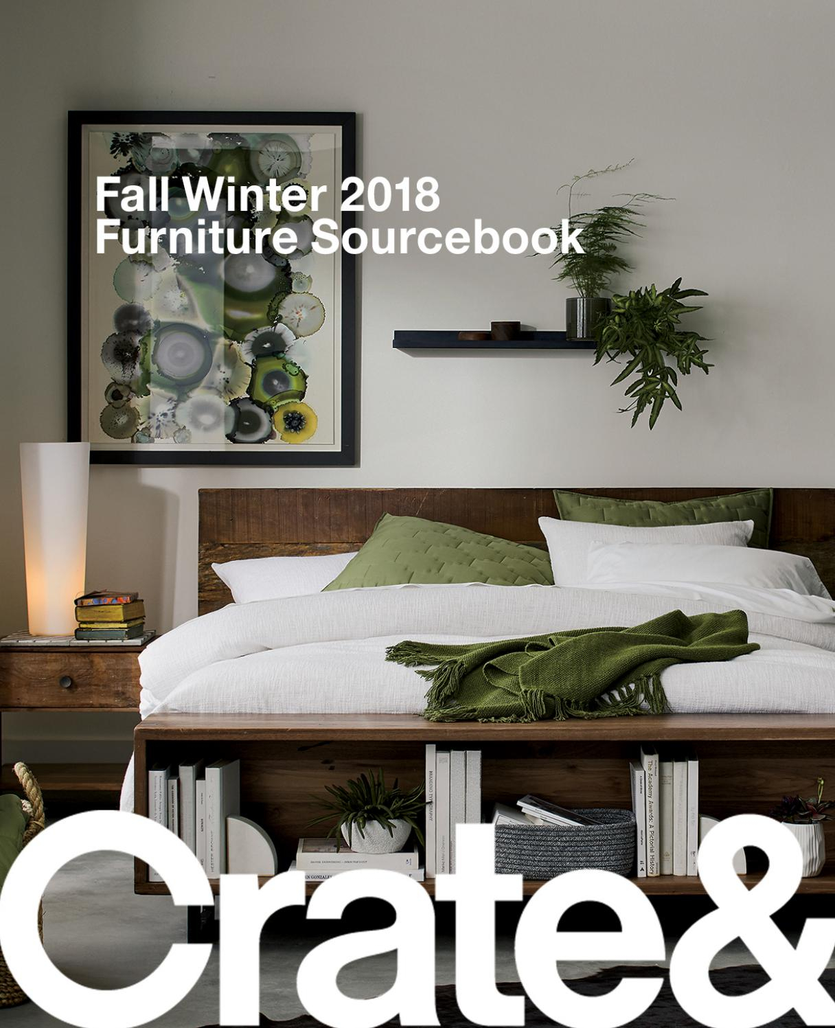 Crate And Barrel Fall Winter 2018 Furniture Sourcebookcrate And For Elke Glass Console Tables With Polished Aluminum Base (View 24 of 30)