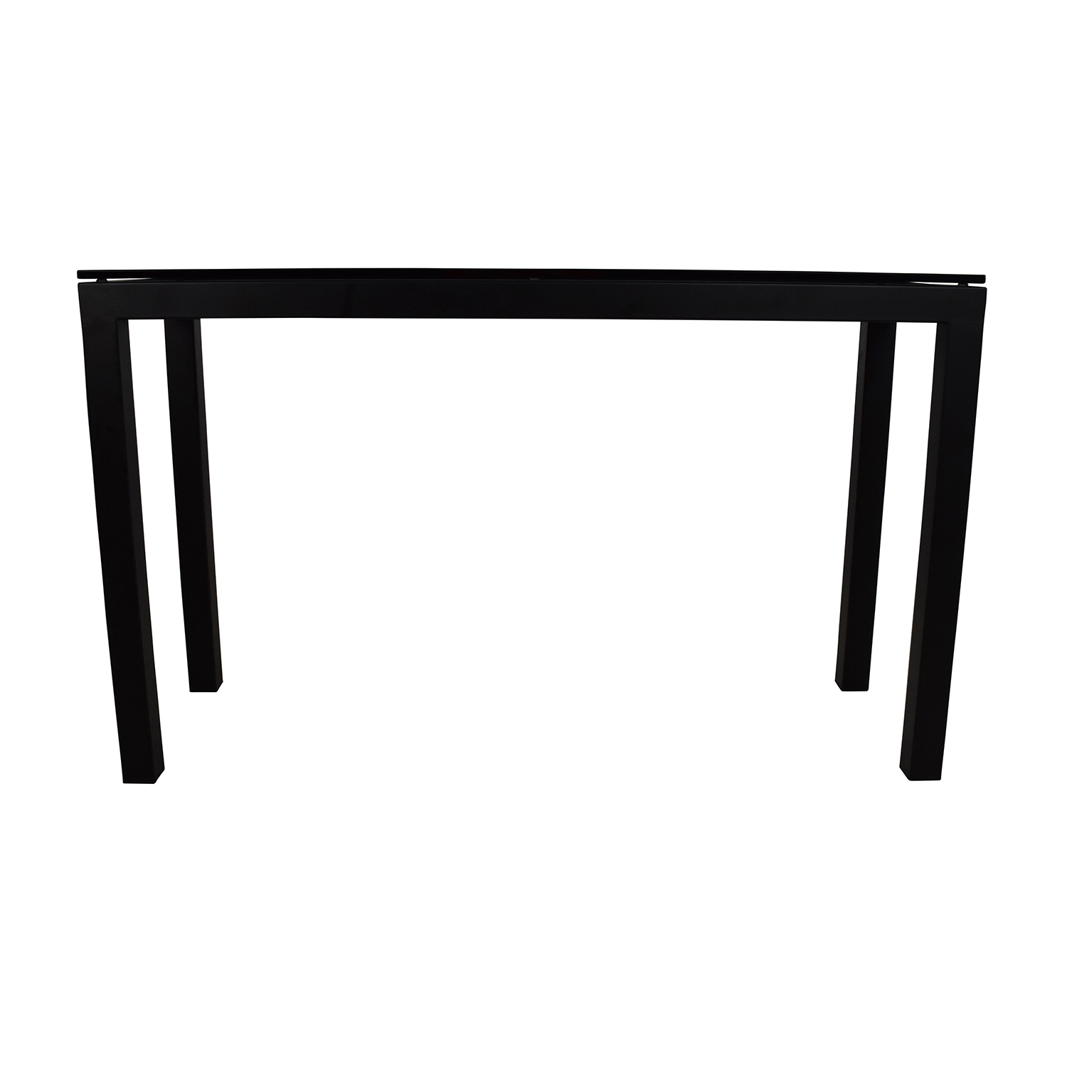 Crate And Barrel Parsons Side Table - Coffee Table Designs with Parsons Concrete Top & Stainless Steel Base 48X16 Console Tables (Image 11 of 30)