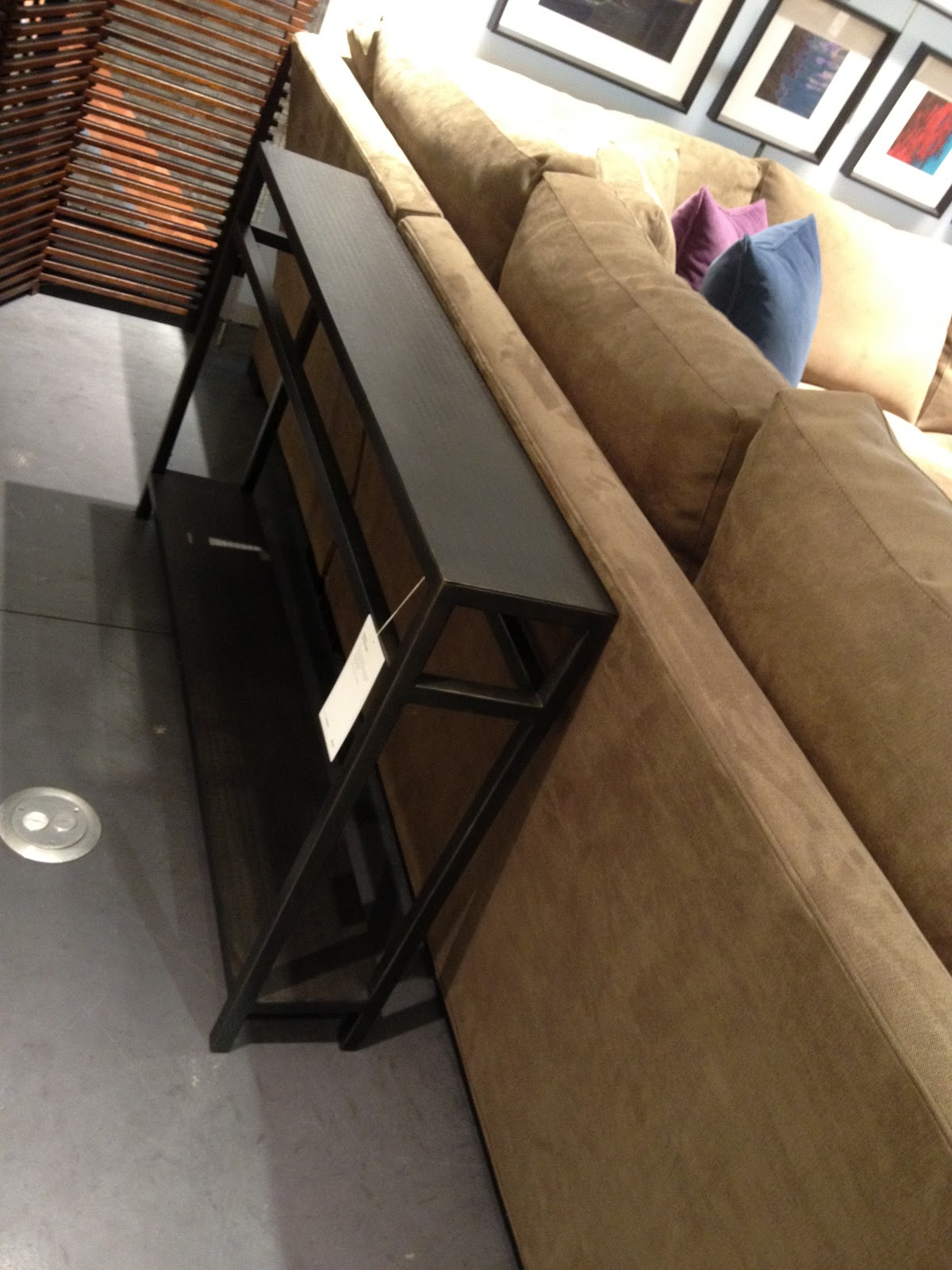 Crate & Barrel, Say What? Pertaining To Echelon Console Tables (View 3 of 30)