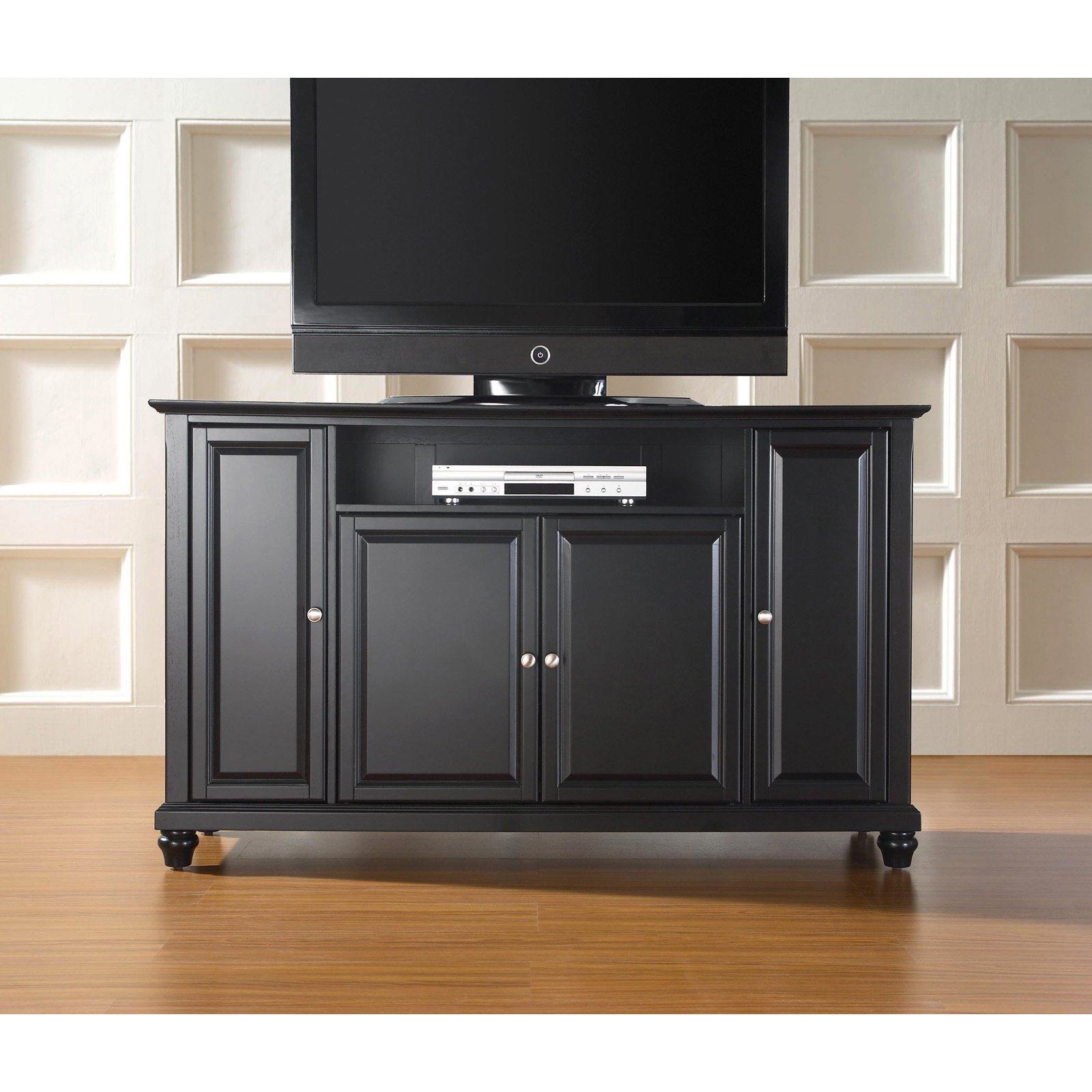 """Crosley Furniture Cambridge Tv Stand For Tvs Up To 60"""" – Walmart Throughout Edwin Black 64 Inch Tv Stands (View 21 of 30)"""