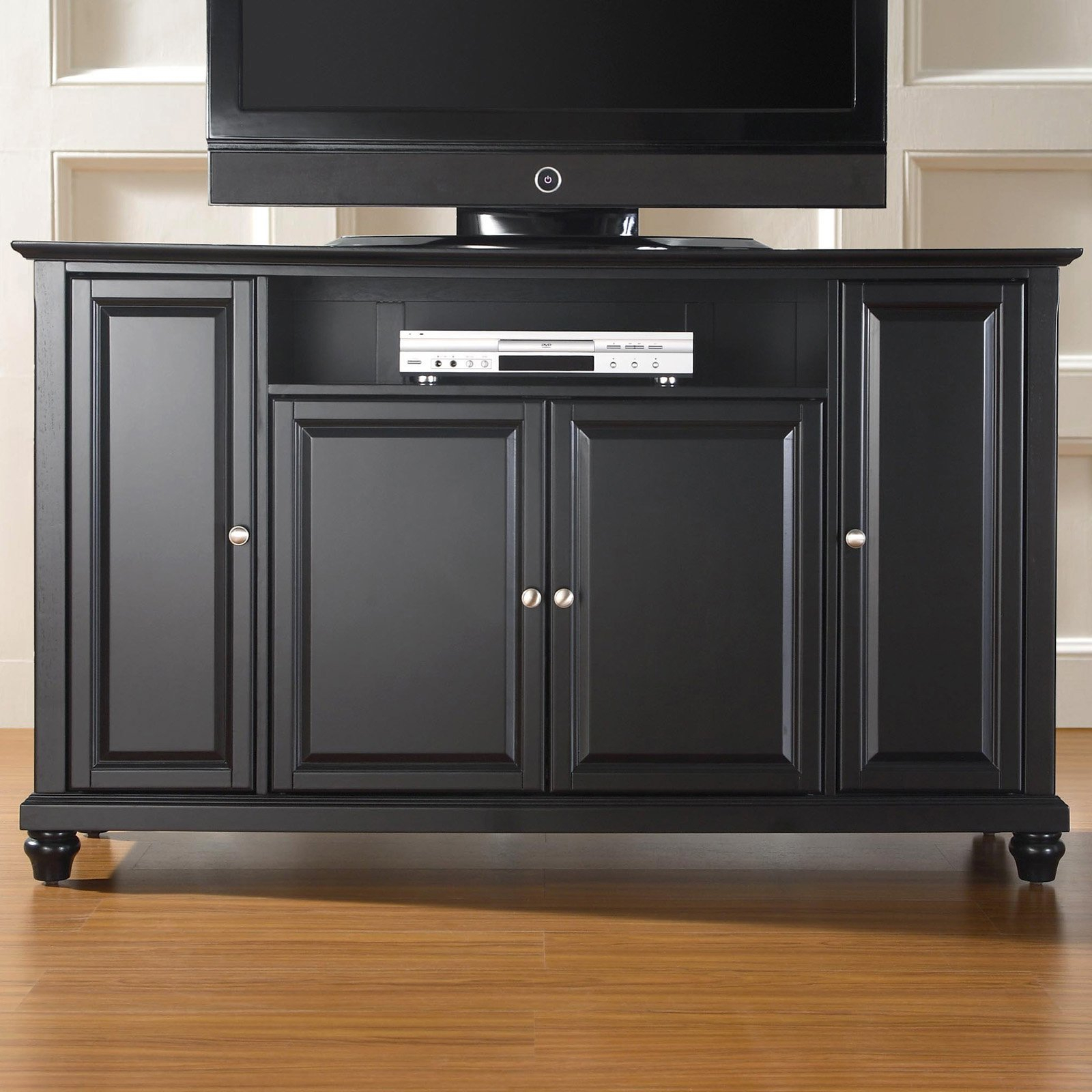 """Crosley Furniture Cambridge Tv Stand For Tvs Up To 60"""" – Walmart With Regard To Edwin Black 64 Inch Tv Stands (View 9 of 30)"""