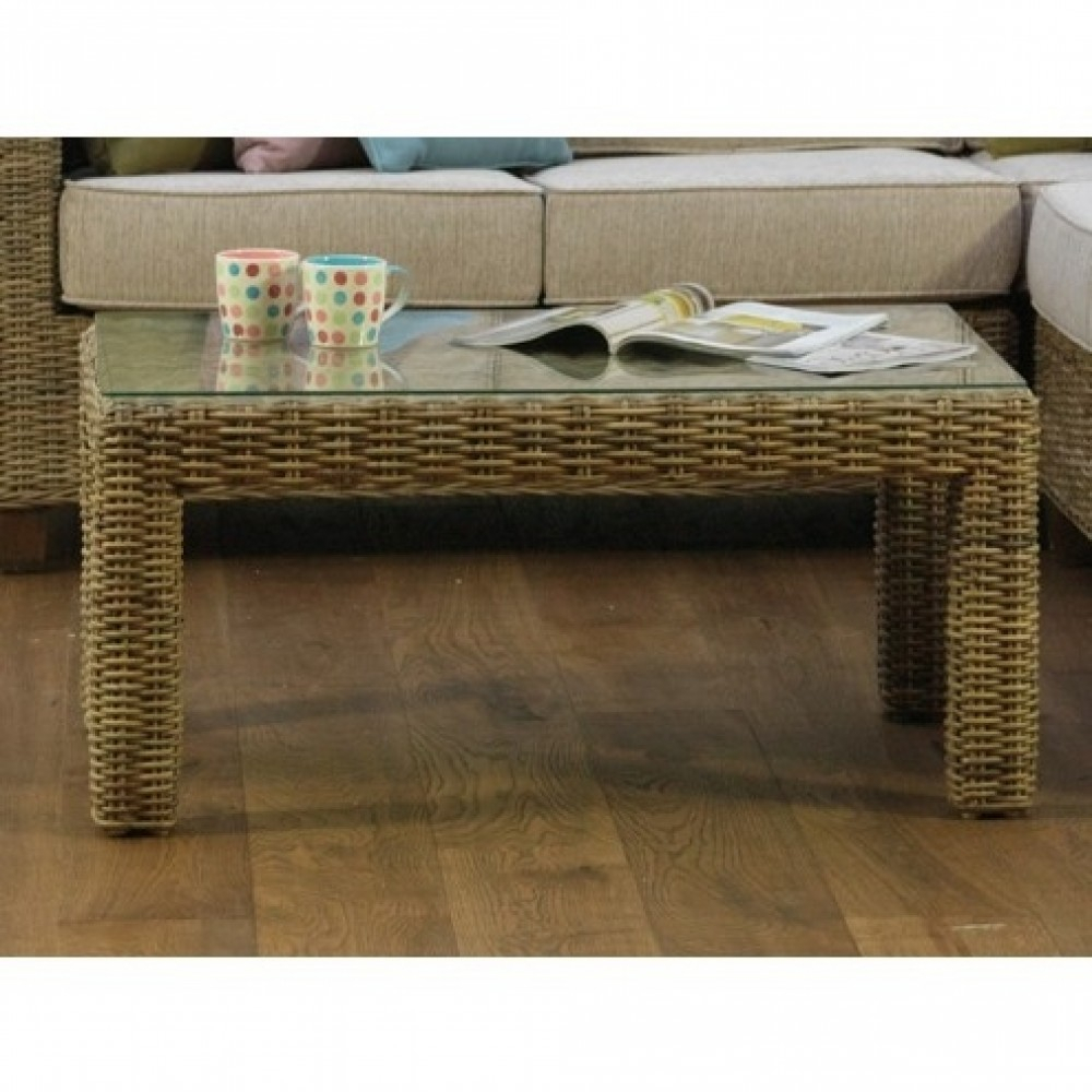 Daro Cane Abington Natural Rattan Conservatory Coffee Table | Daro Pertaining To Natural Cane Media Console Tables (Gallery 8 of 30)