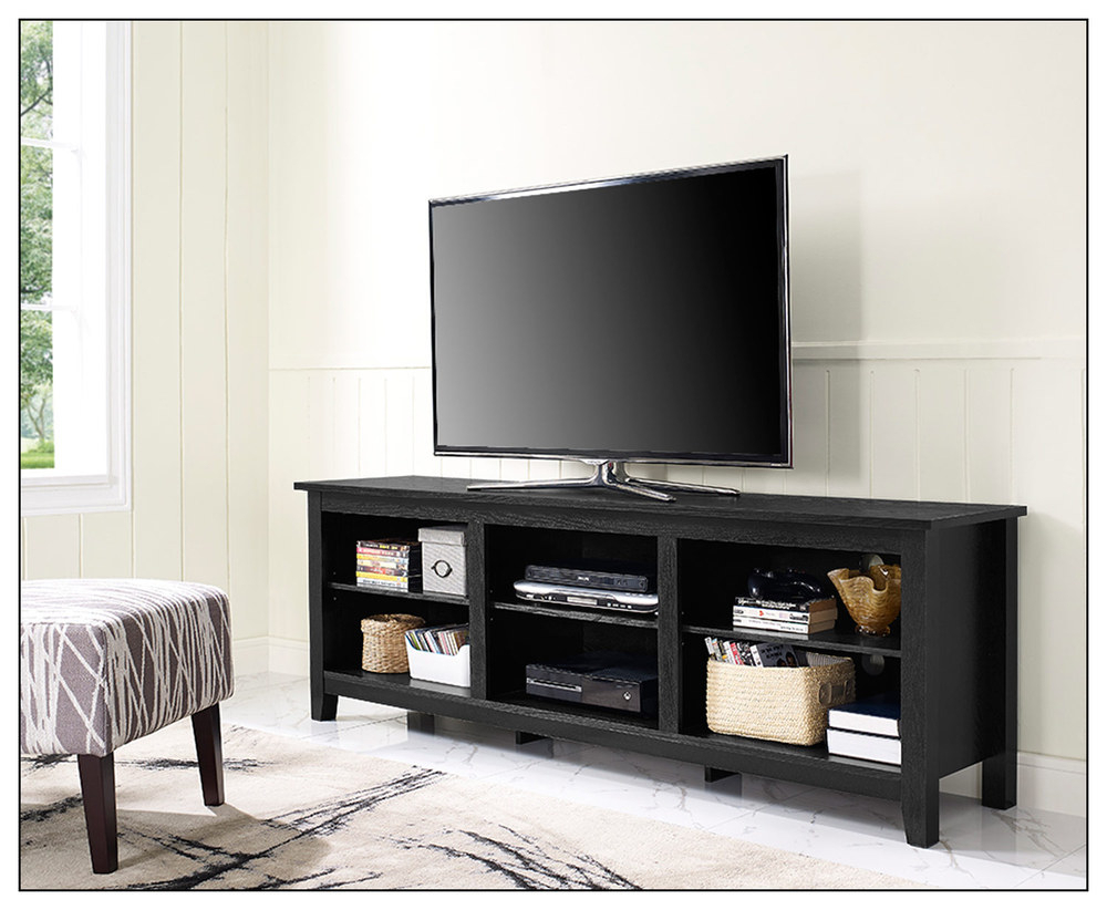 Dazzling Jofran Craftsman Tv Stand Media Unit Distressed Cream pertaining to Oxford 70 Inch Tv Stands (Image 10 of 30)