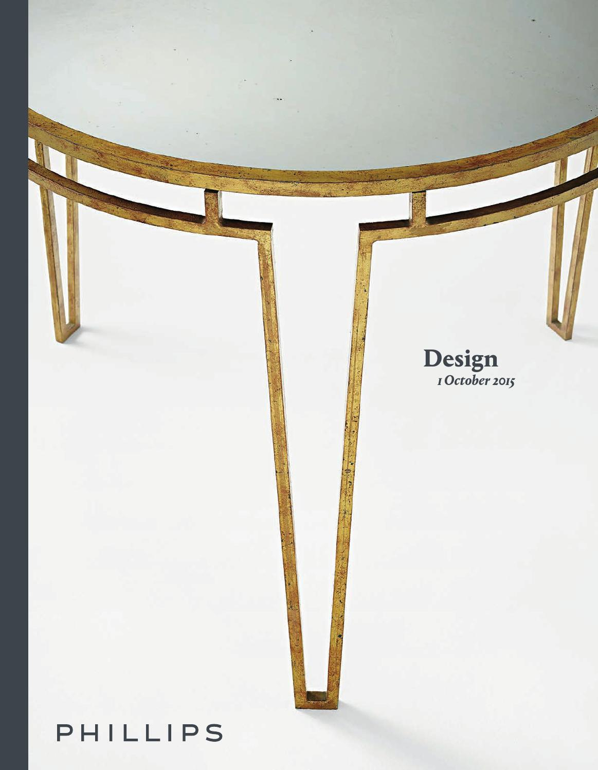 Design [Catalogue]Phillips   Issuu With Phillip Brass Console Tables (Photo 26 of 30)