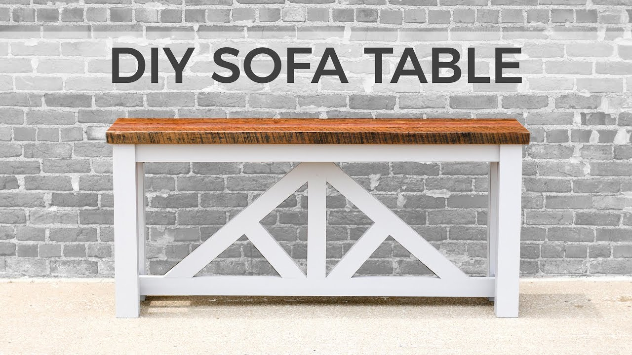 Diy Sofa Table / Console Table | How To Build In Switch Console Tables (Photo 17 of 30)