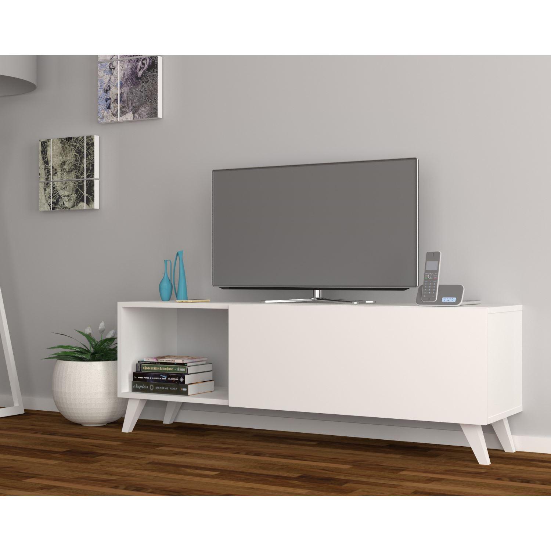 Dmodül Smart Tv Ünitesi 140 Cm   Dekorazon with regard to Kai 63 Inch Tv Stands (Image 7 of 30)