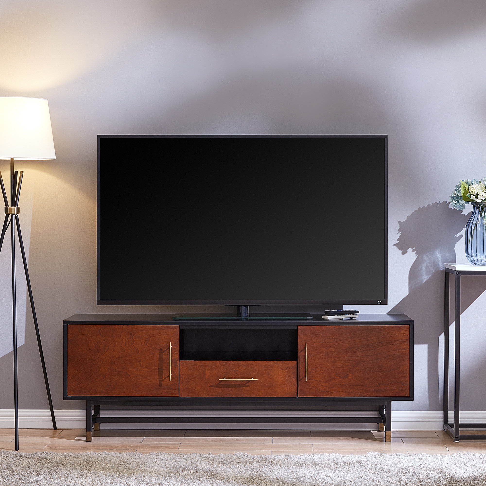 Dog Crate Tv Stand | Wayfair with regard to Oscar 60 Inch Console Tables (Image 10 of 30)