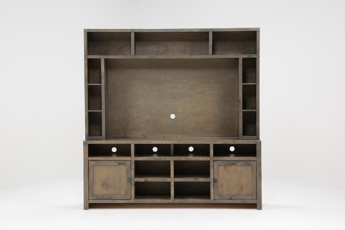 Ducar 2 Piece Wall Entertainment Center | Living Spaces In Ducar 64 Inch Tv Stands (View 19 of 30)