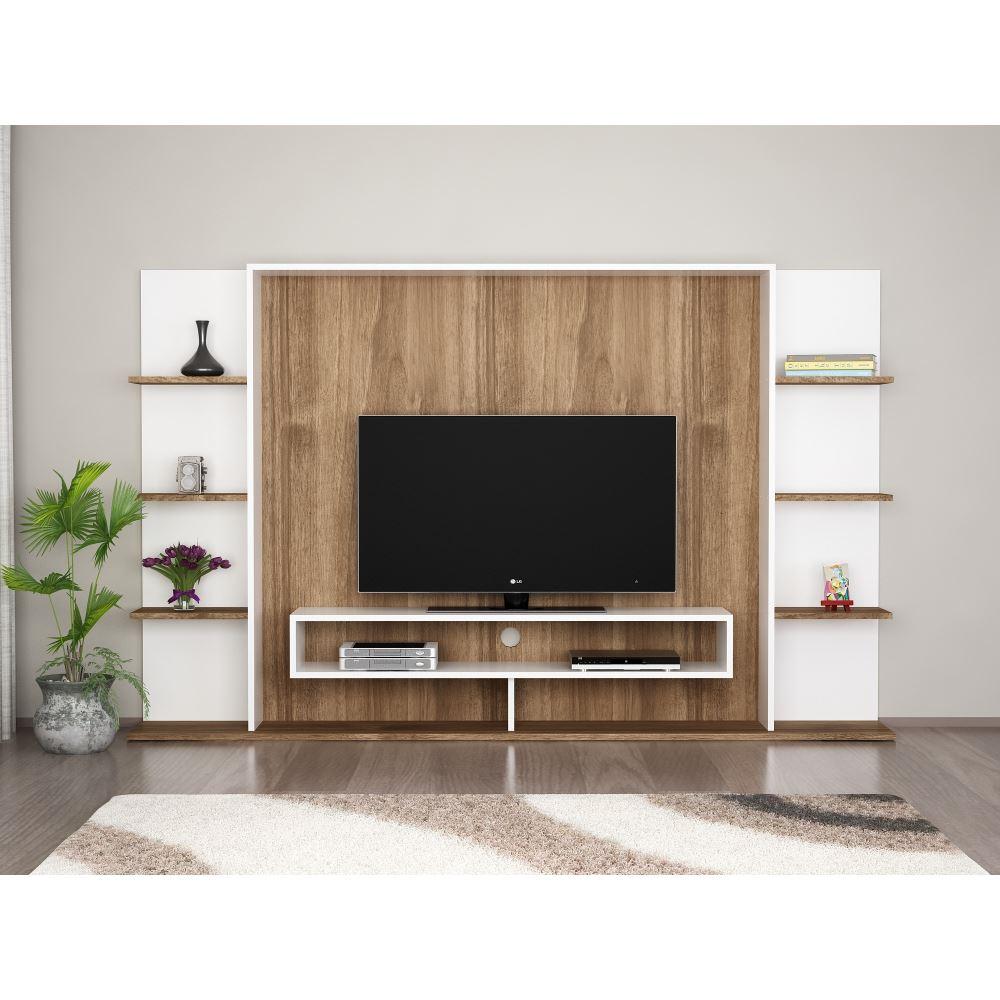Duvar Üniteli Tv Sehpa Modelleri Tekzen'de! Pertaining To Ducar 84 Inch Tv Stands (View 23 of 30)