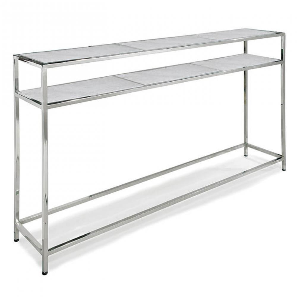 Echelon Console Table (Polished Nickel) : 30 1016Pn | Prima Lighting For Echelon Console Tables (Gallery 1 of 30)