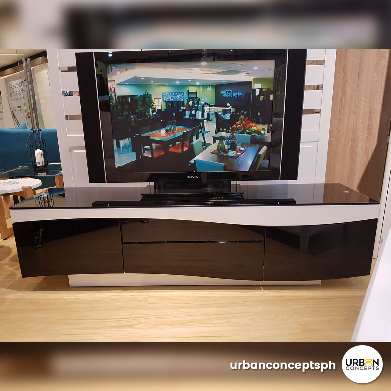 Elian Tv Stand Furniture Store Manila Philippines   Urban Concepts Inside Noah 75 Inch Tv Stands (Photo 13 of 30)