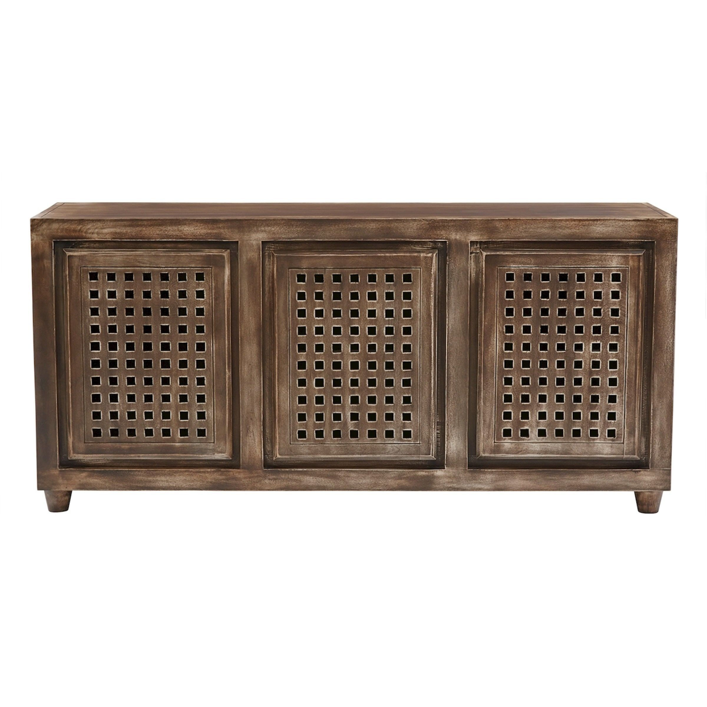Elk Lighting Gladys Brow Wood Tone Accent Console (Three Drawer In Walters Media Console Tables (Photo 16 of 30)